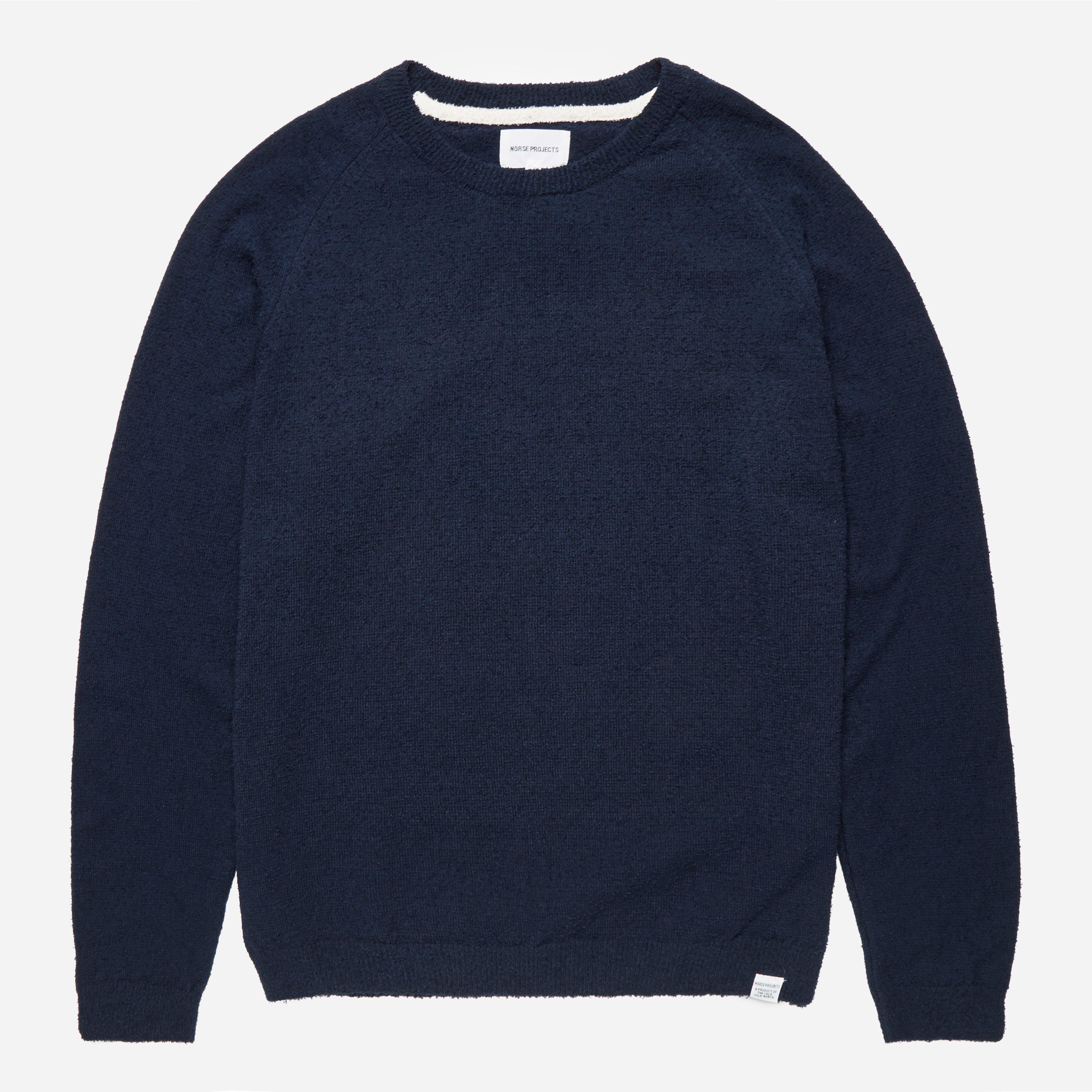 Norse Projects Birnir Cotton Texture Crew Knit