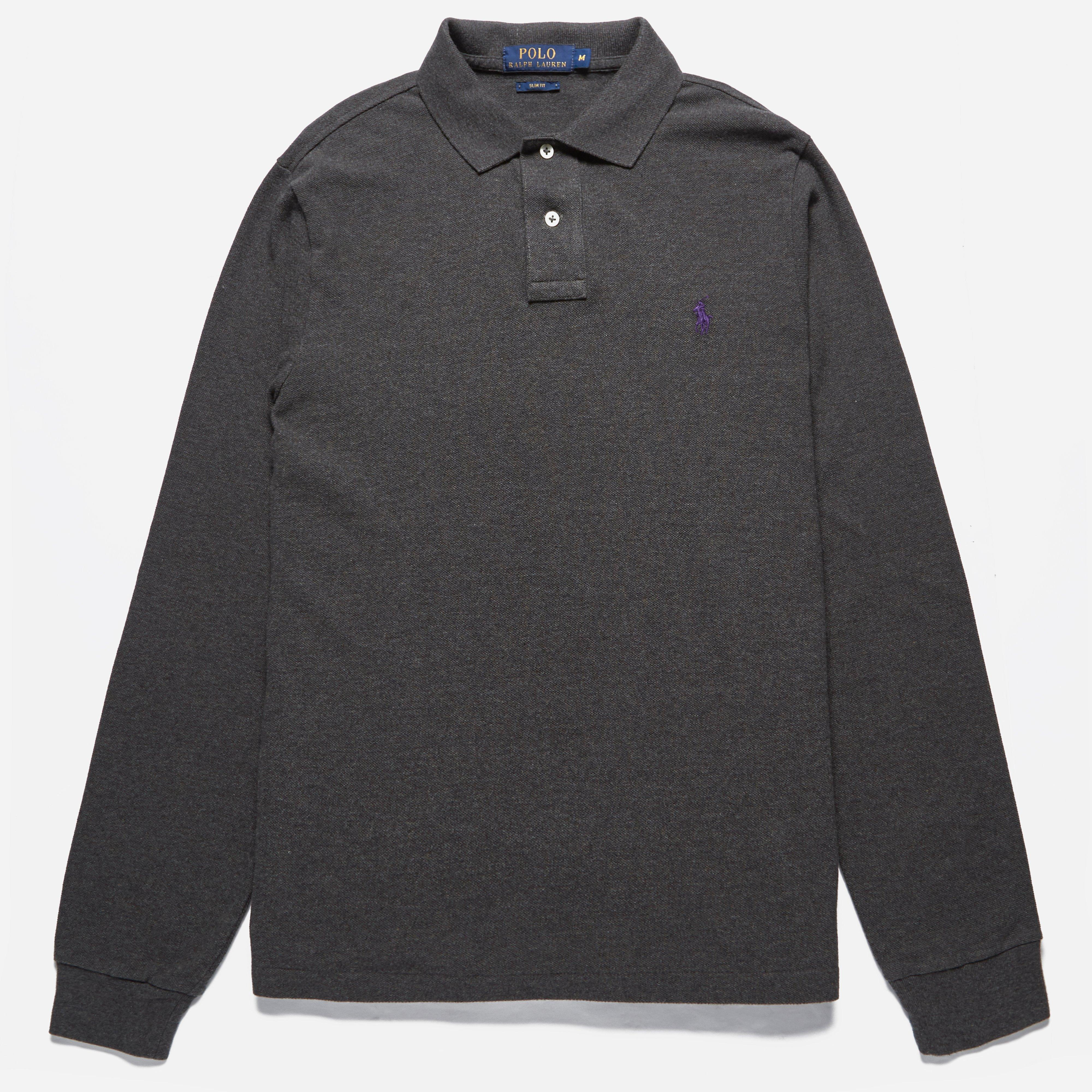 Polo Ralph Lauren Long Sleeved Slim Fit Polo