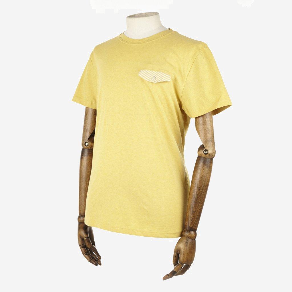 Oliver Spencer Slade Pocket Tee Yellow