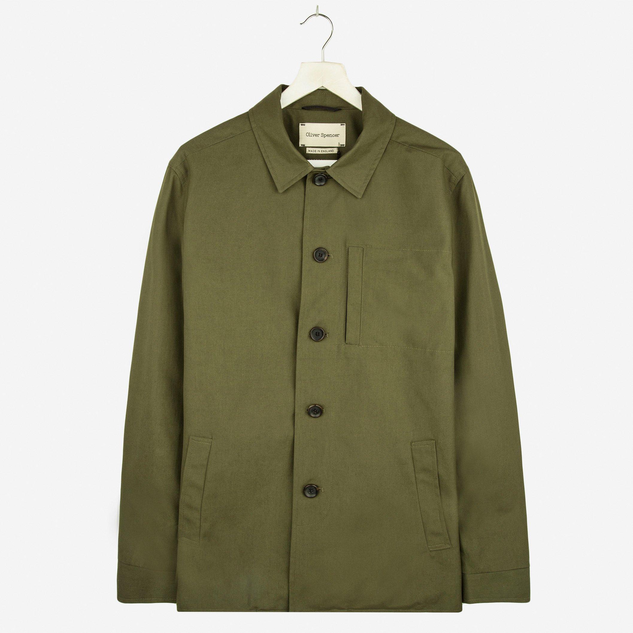 Oliver Spencer Portobello Jacket Lawford Green