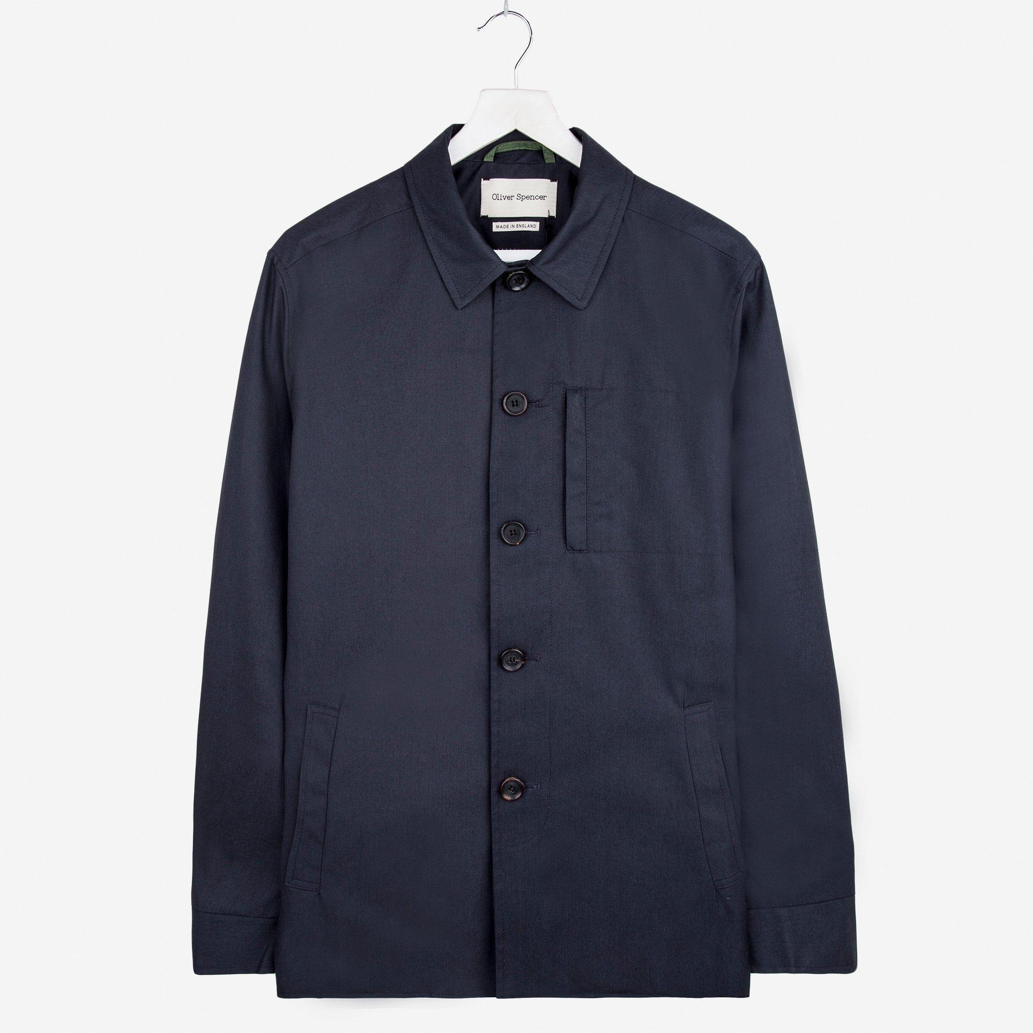 Oliver Spencer Portobello Jacket Lawford Navy