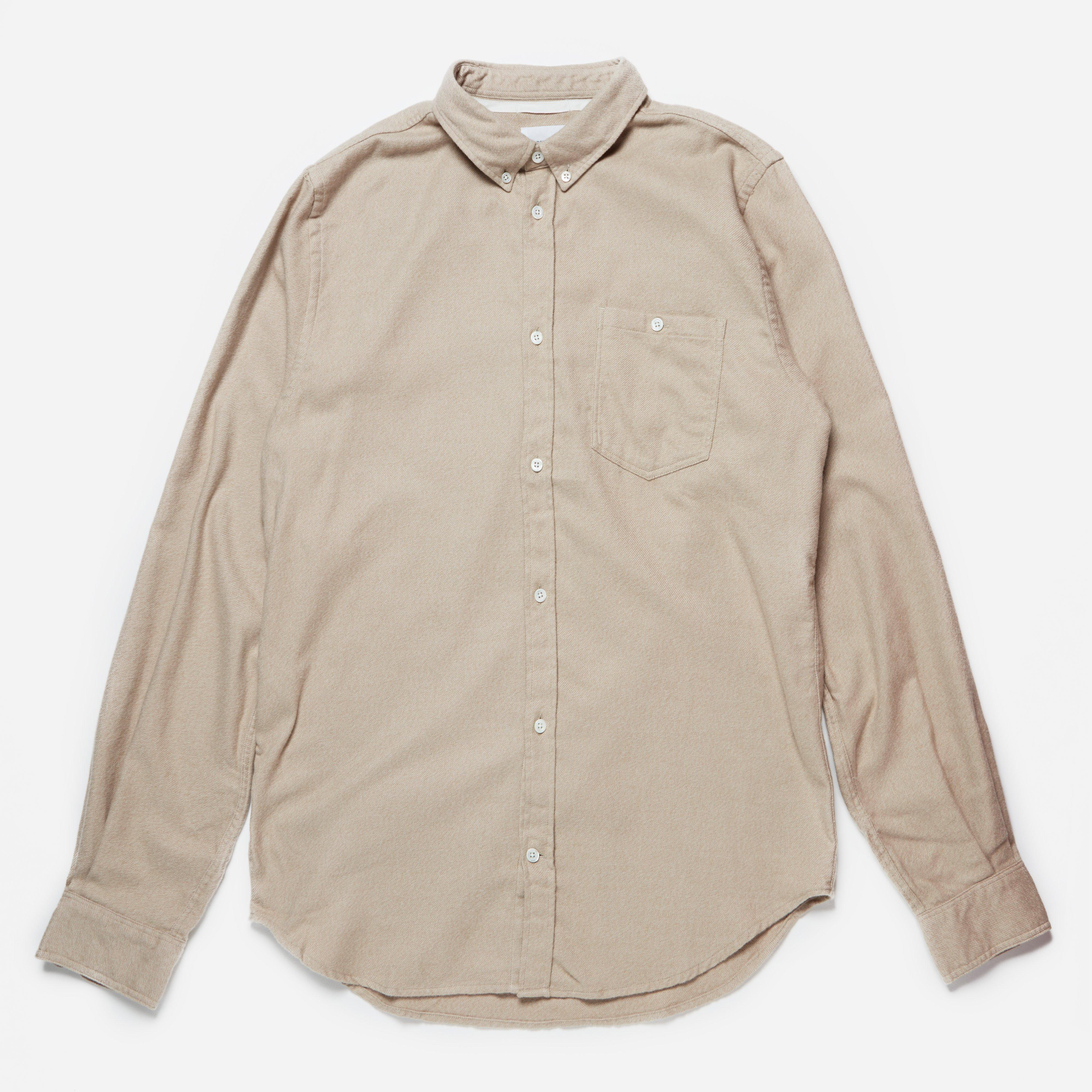 Norse Projects Osvald Brushed Shirt