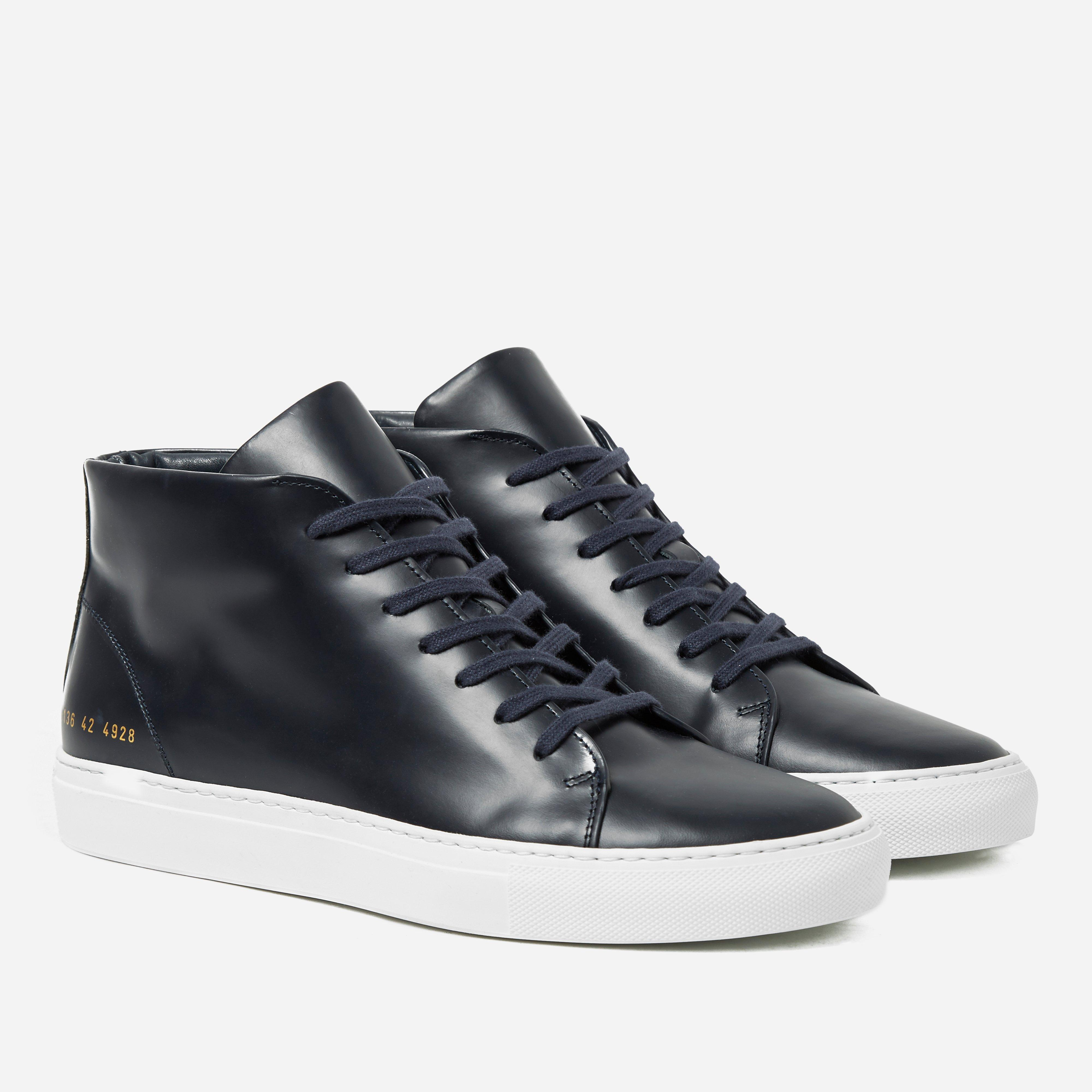Common Projects New Court Mid 5136 Boxed Leather