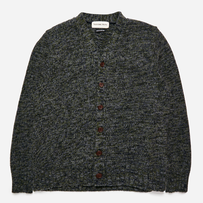 Universal Works Soft Wool Twist Cardigan