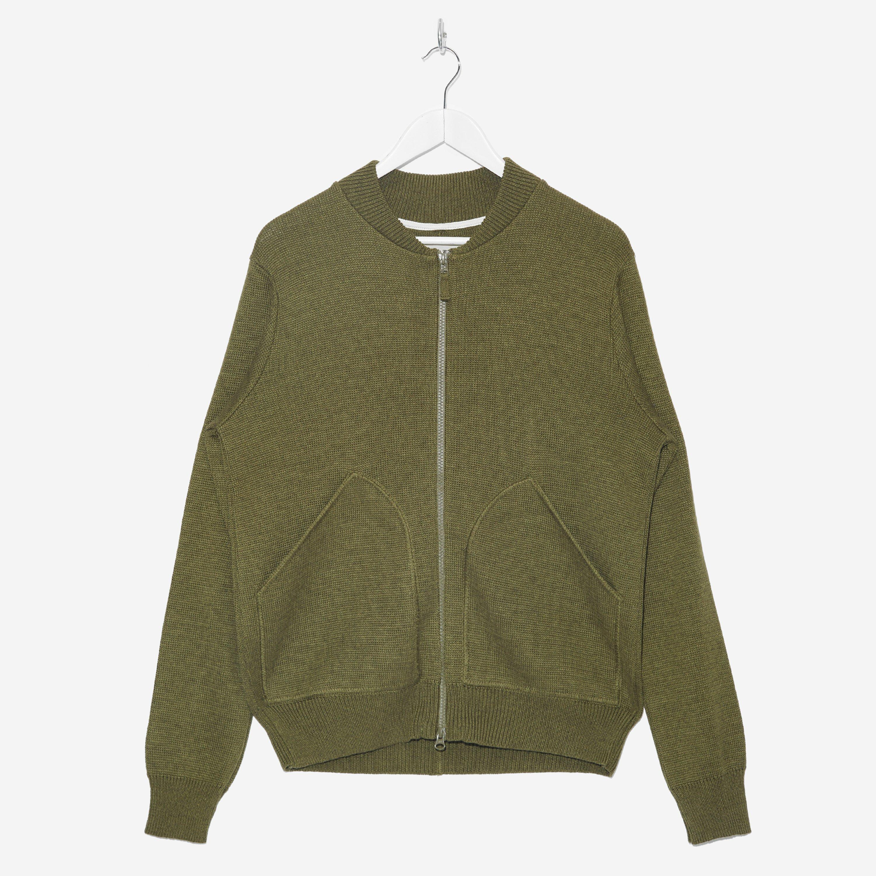 Universal Works Half Milano Knitted Bomber