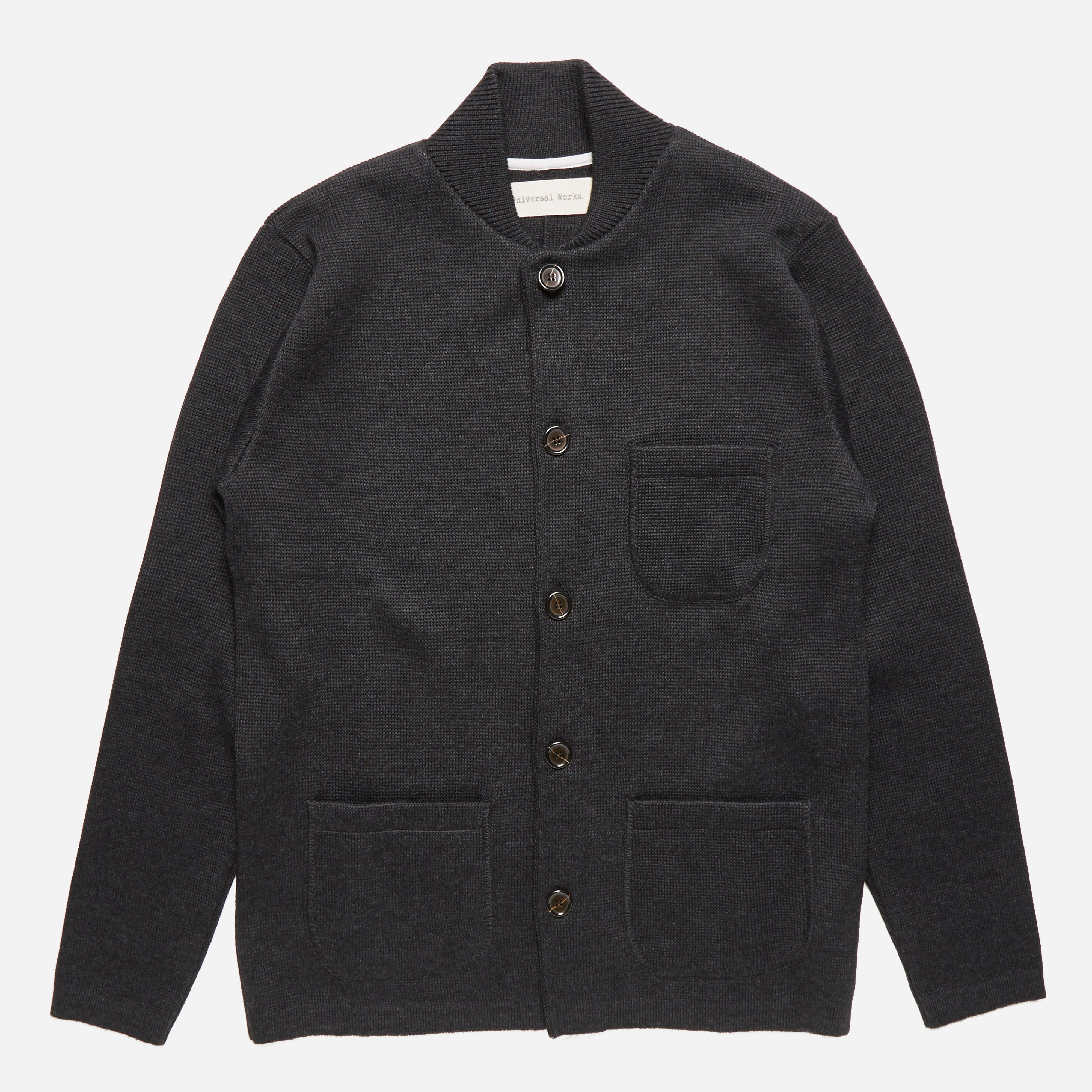 Universal Works Half Milano Knitted Work Jacket