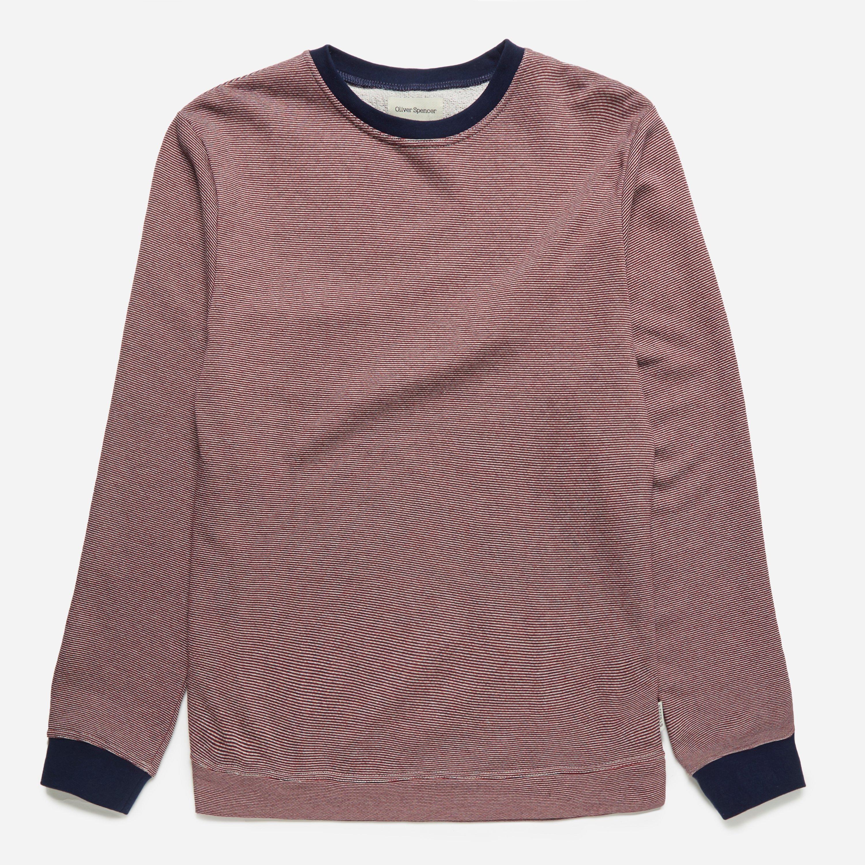 Oliver Spencer Mali Sweatshirt Red Multi