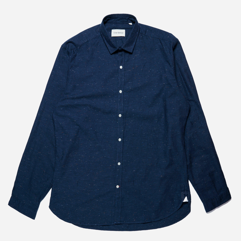 Oliver Spencer Horwood Clerkenwell Tab Shirt