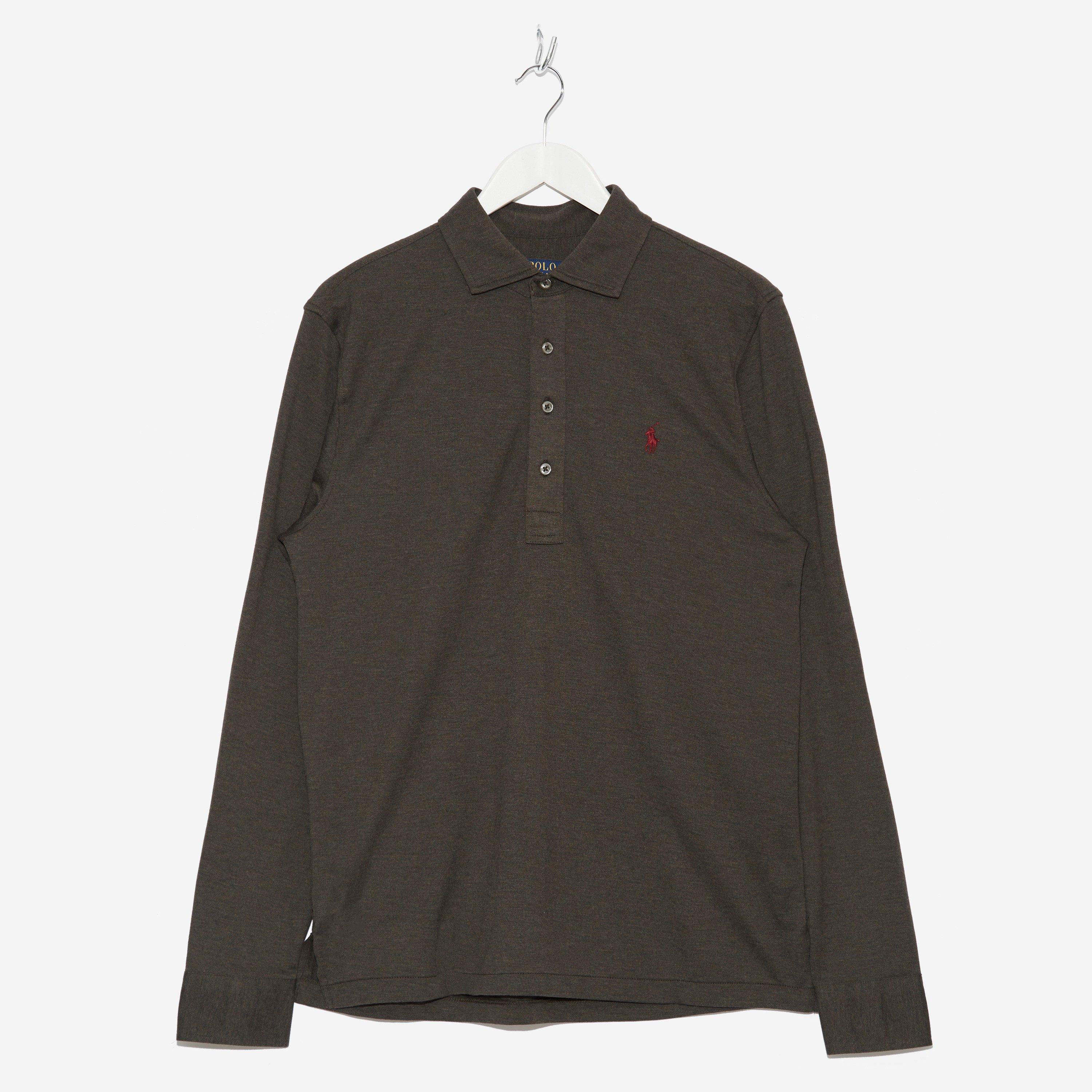 Polo Ralph Lauren Long Sleeve Knitted Polo