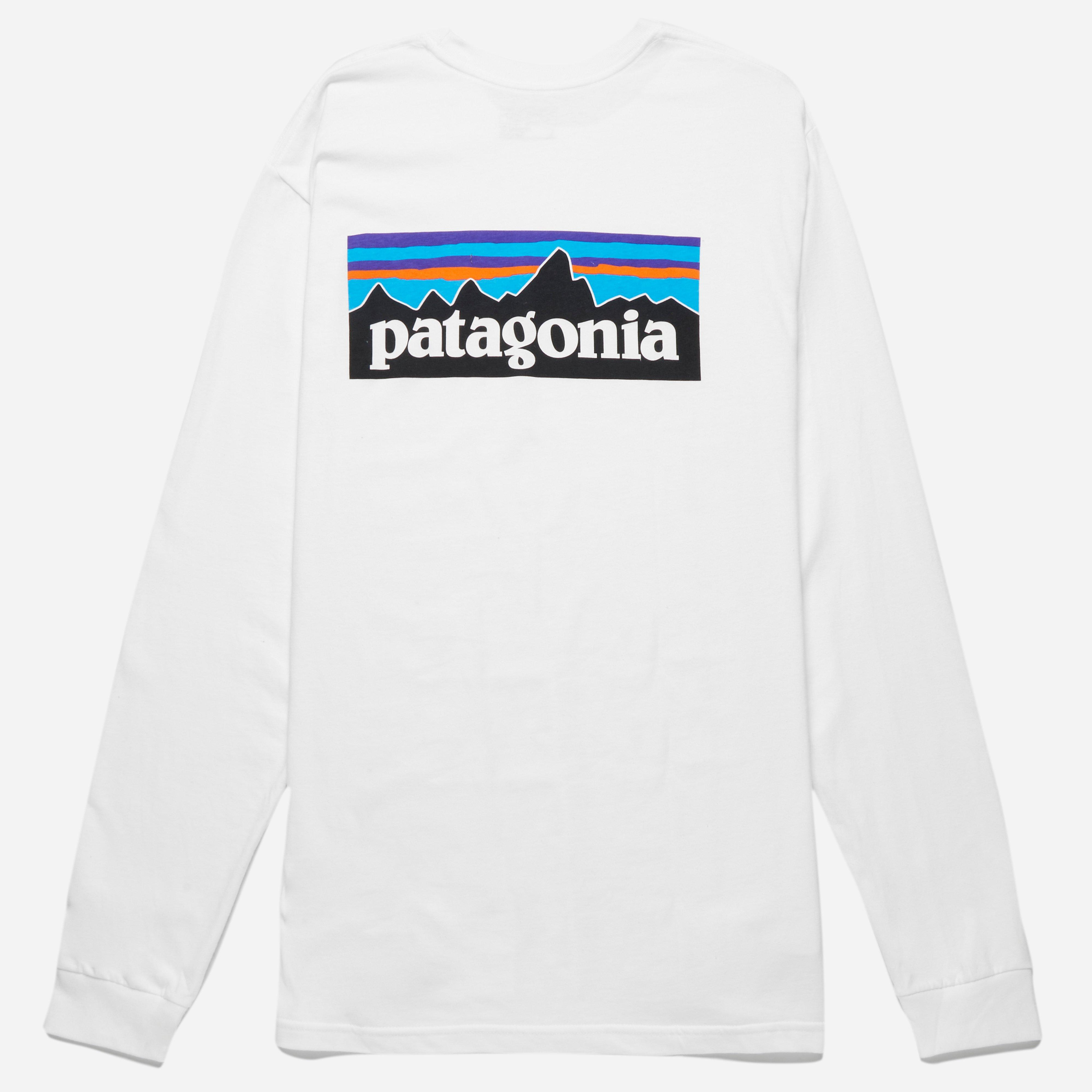 Patagonia Long Sleeve P6 Logo T-shirt