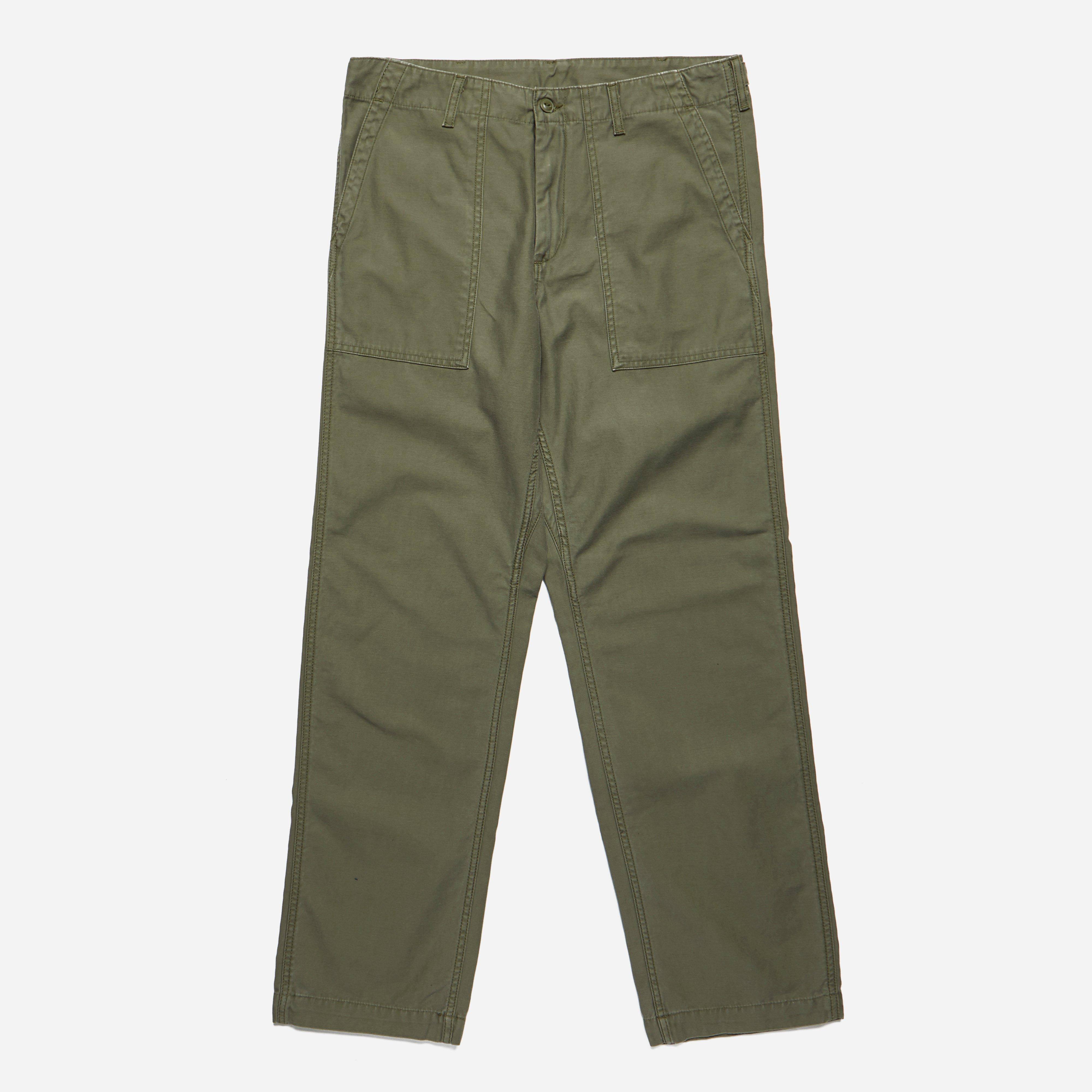 Carhartt Fatigue Pants Stone Washed