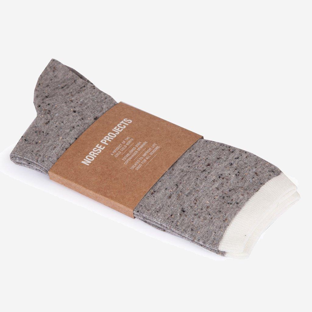 Norse Projects Bjarki Boucle Socks