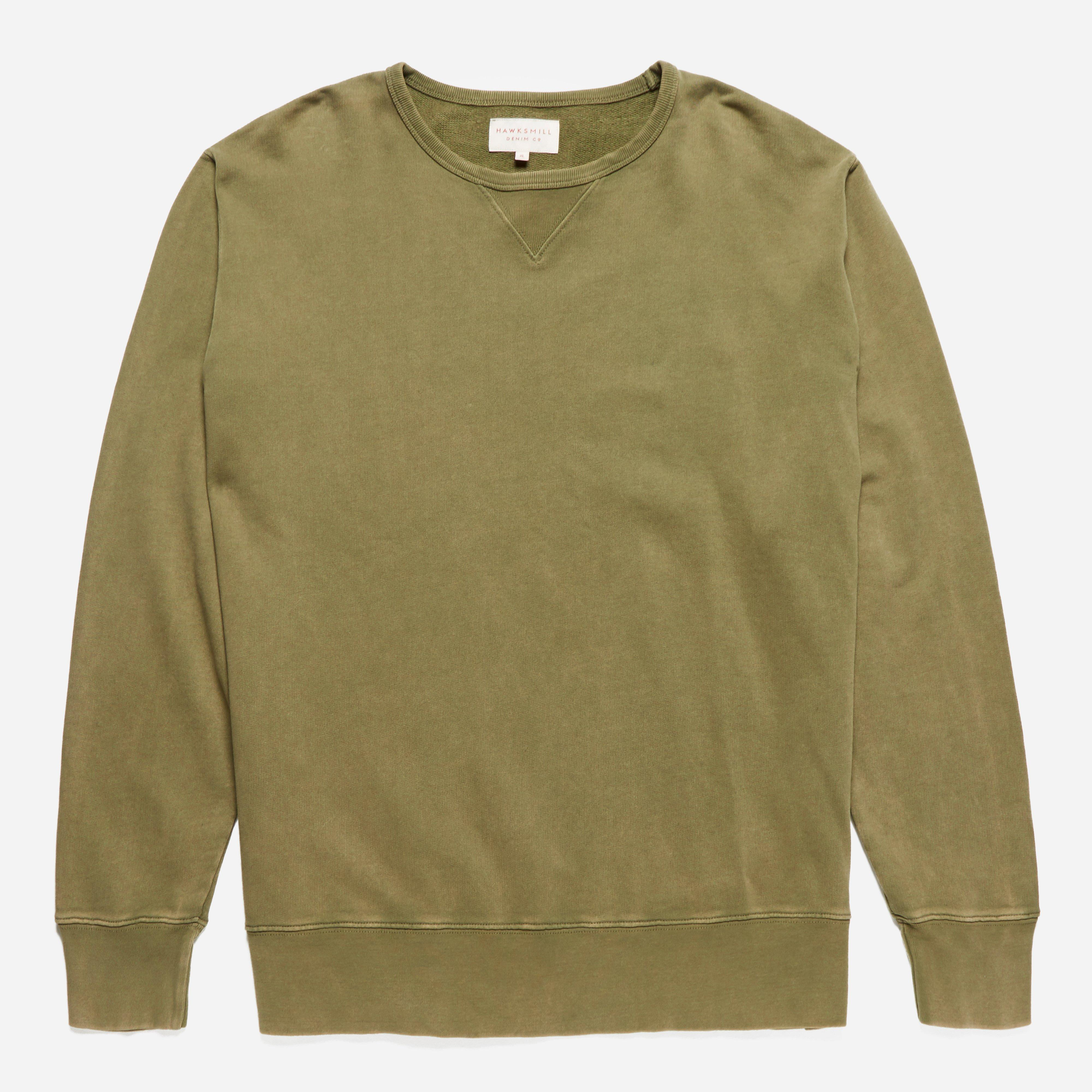 Hawksmill Denim Co. Garment Dyed Sweatshirt