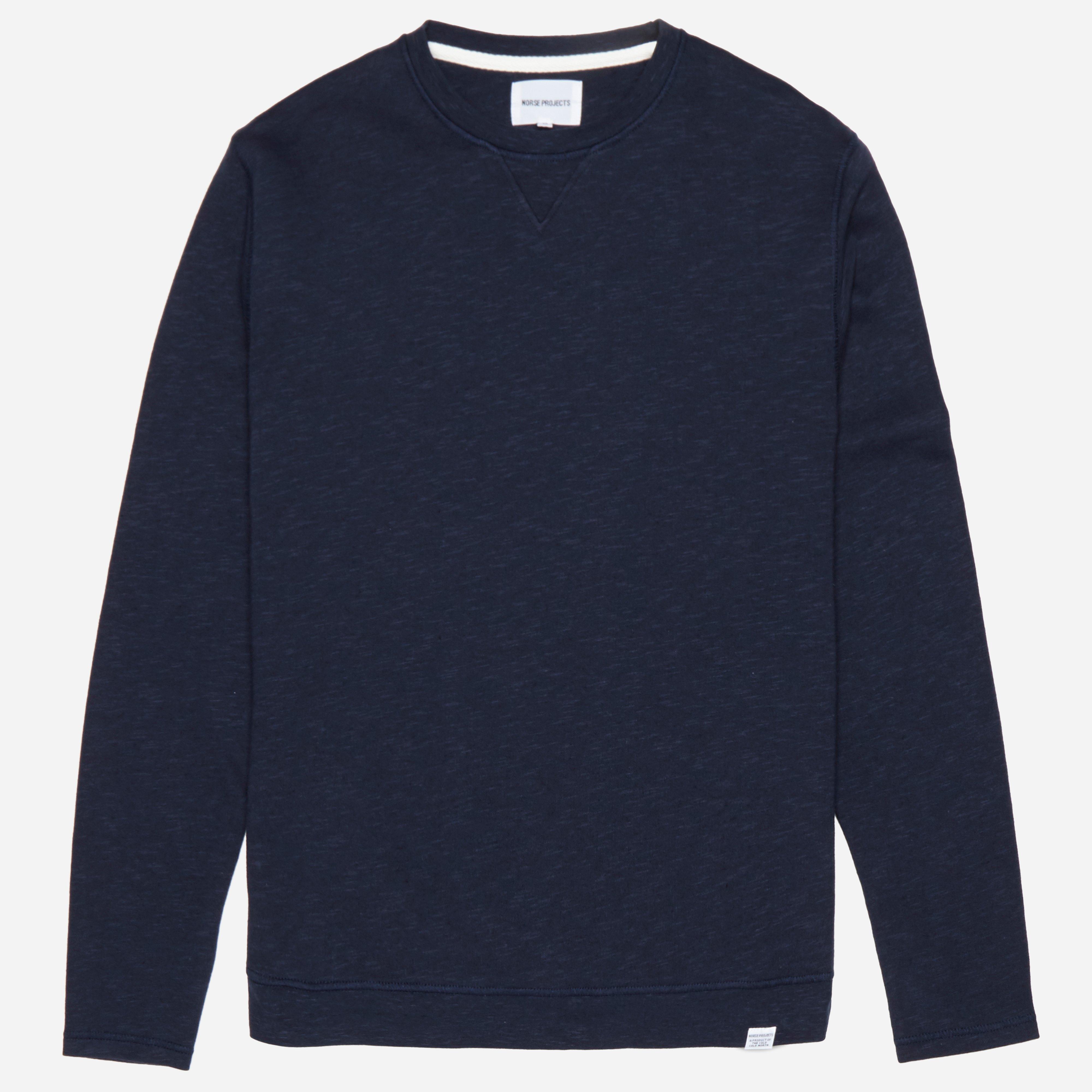 Norse Projects Halfdan Flame Overdye Sweatshirt