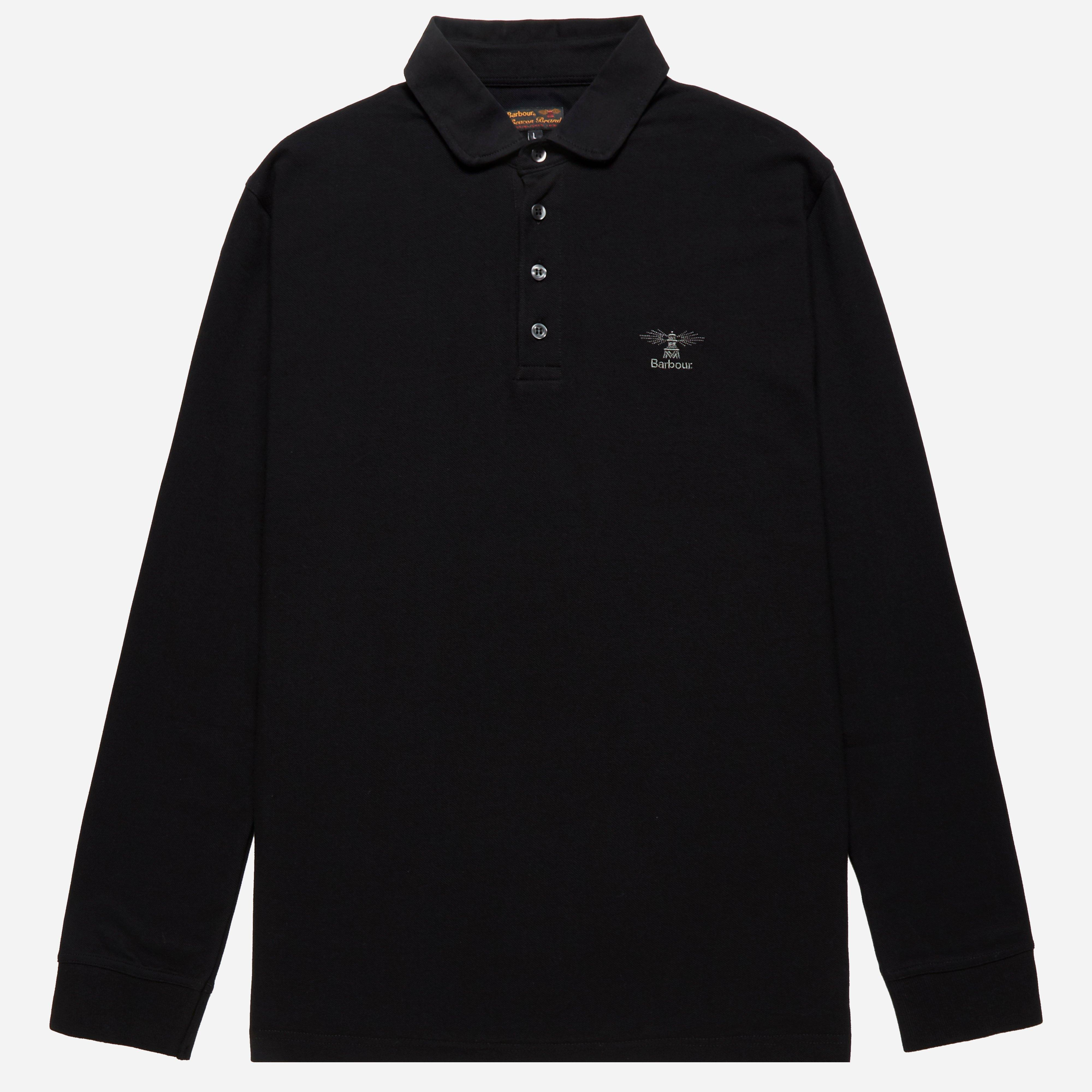 Barbour Long Sleeve Standards Polo