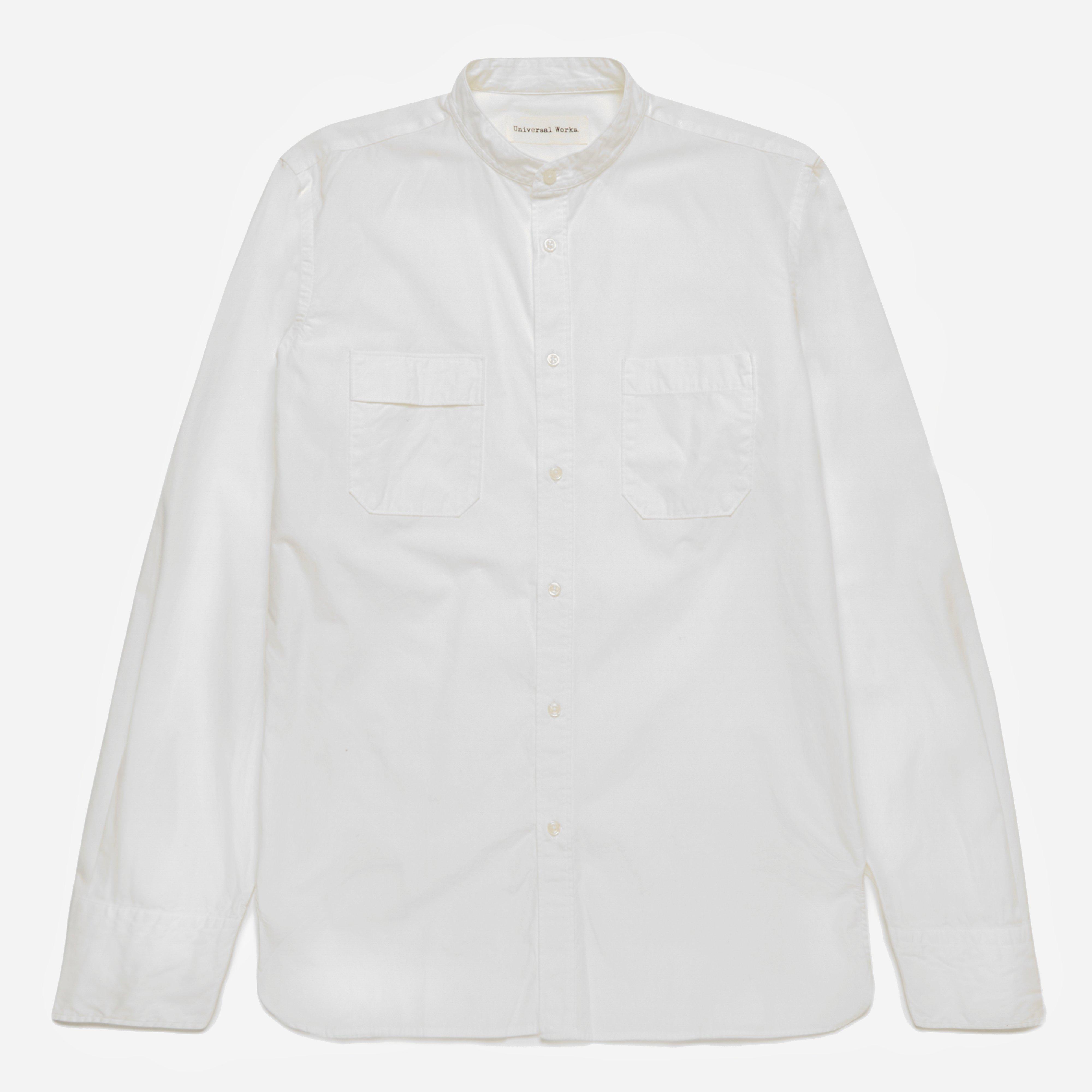 Universal Works Poplin Point Collar Shirt