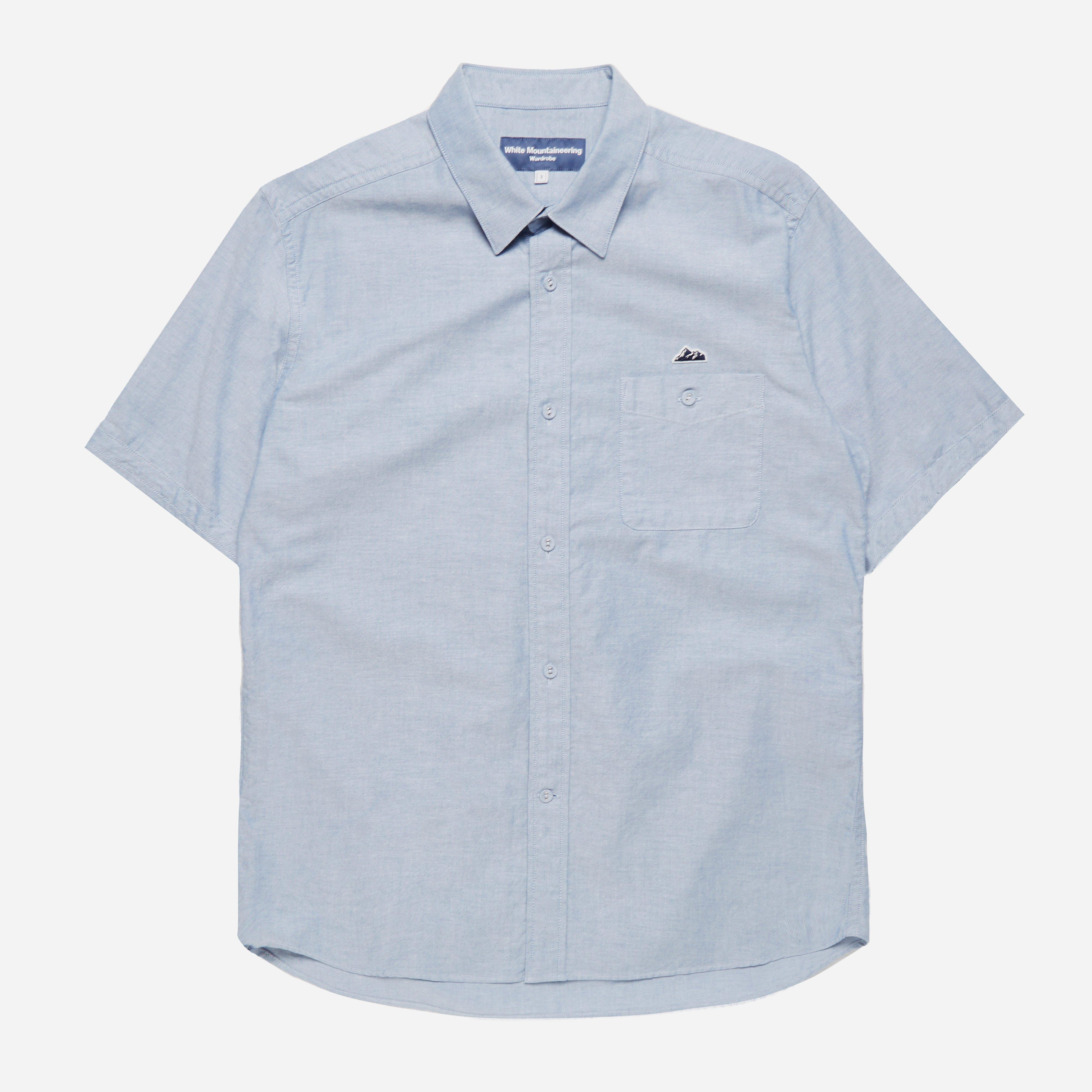 White Mountaineering Oxford Half Sleeve Shirt