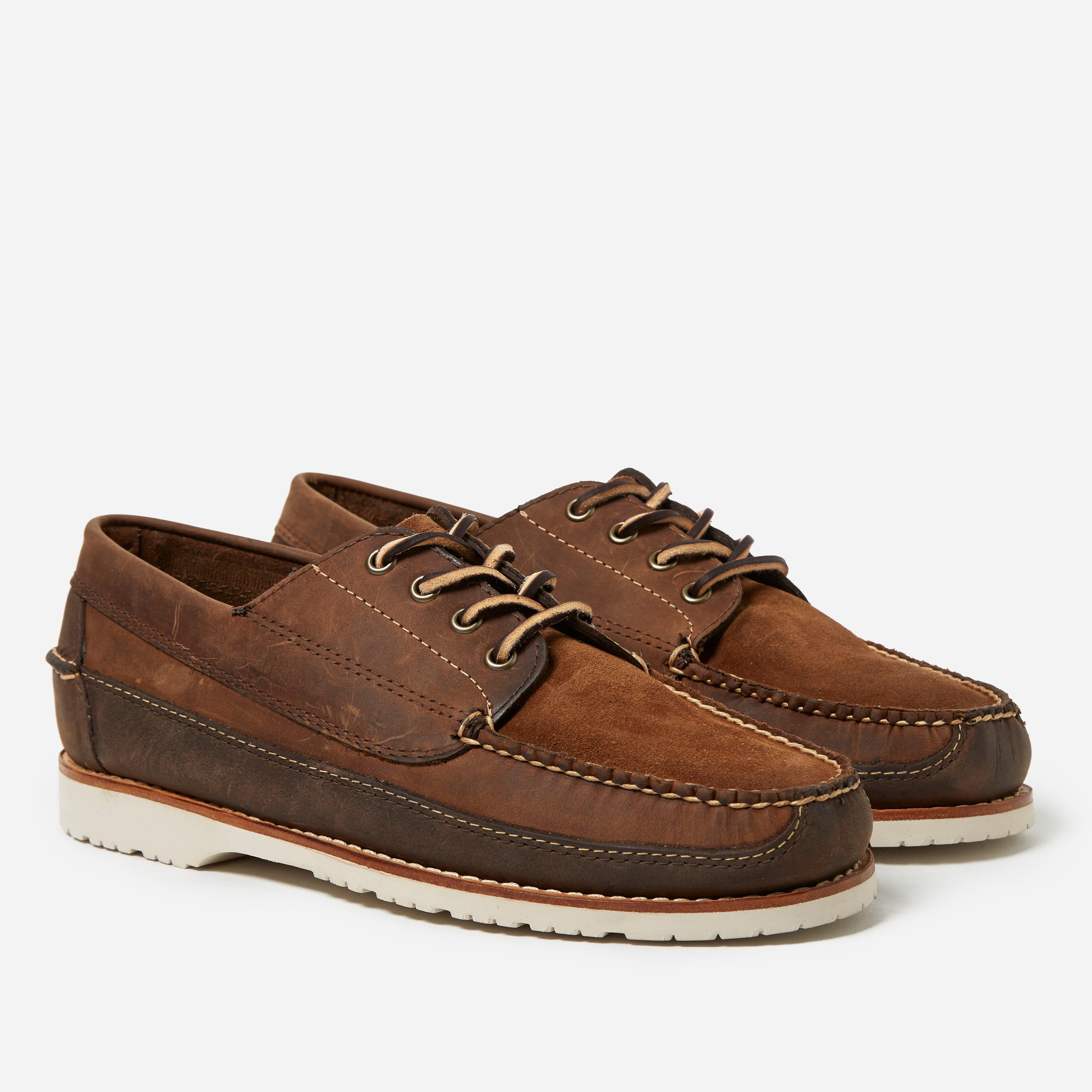 G.H.Bass & Co Camp Moc II Jackman Mix Leather Suede