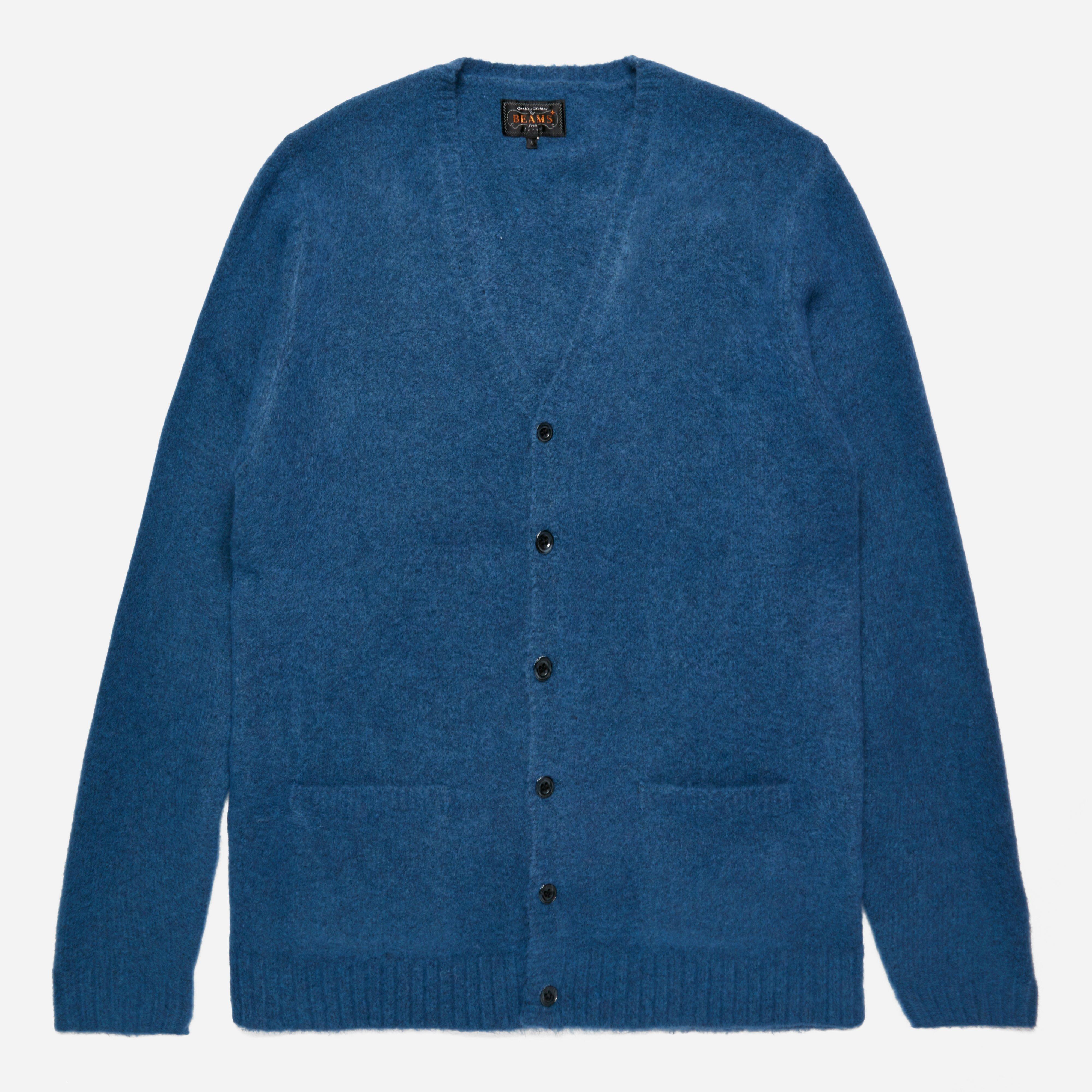 Beams Plus Stretch Knit Cardigan