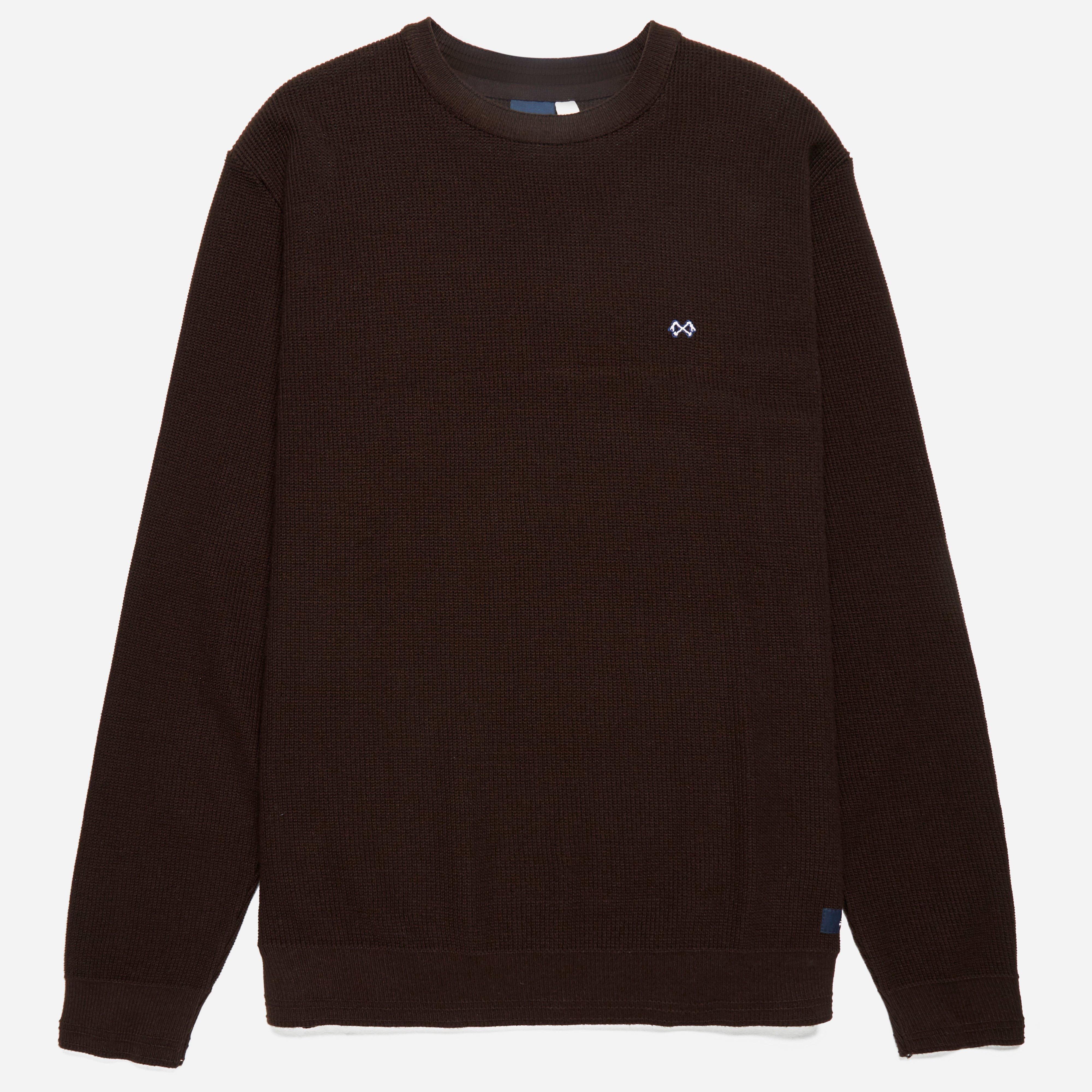Bleu De Paname Tricot Sweater Dark Brown