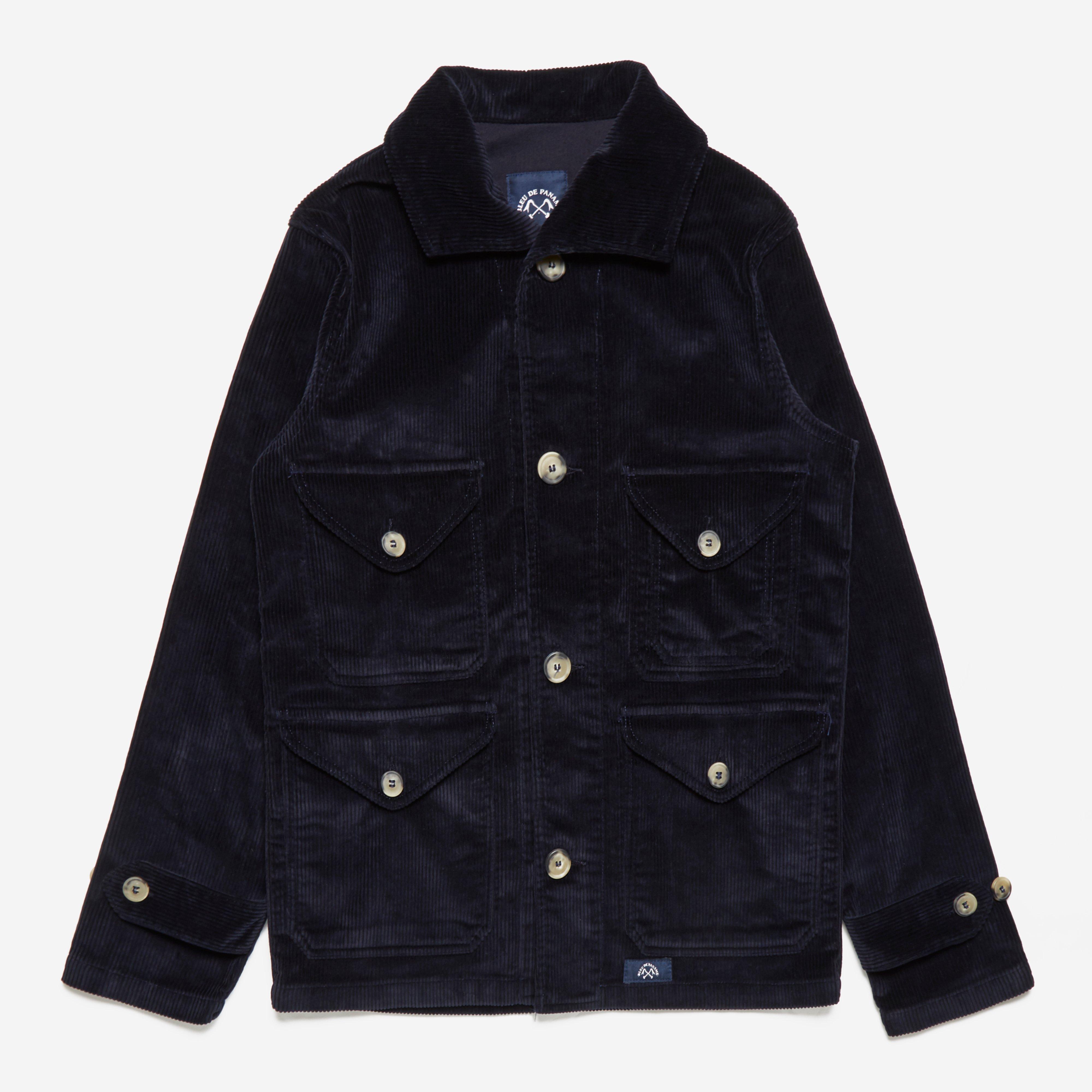 Bleu De Paname Veste De Chasse Corduroy Jacket