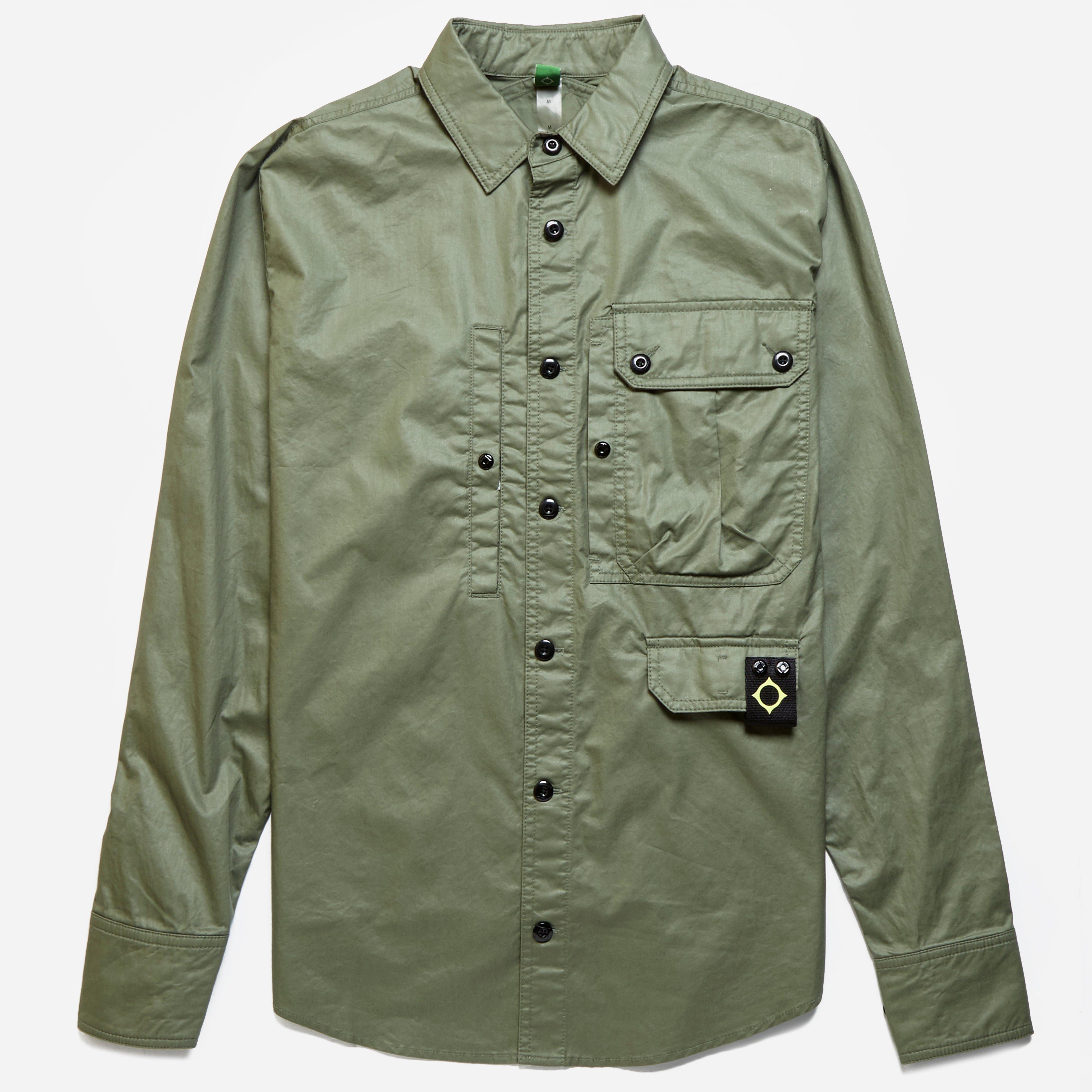 MA.STRUM Multi Pocket Overshirt