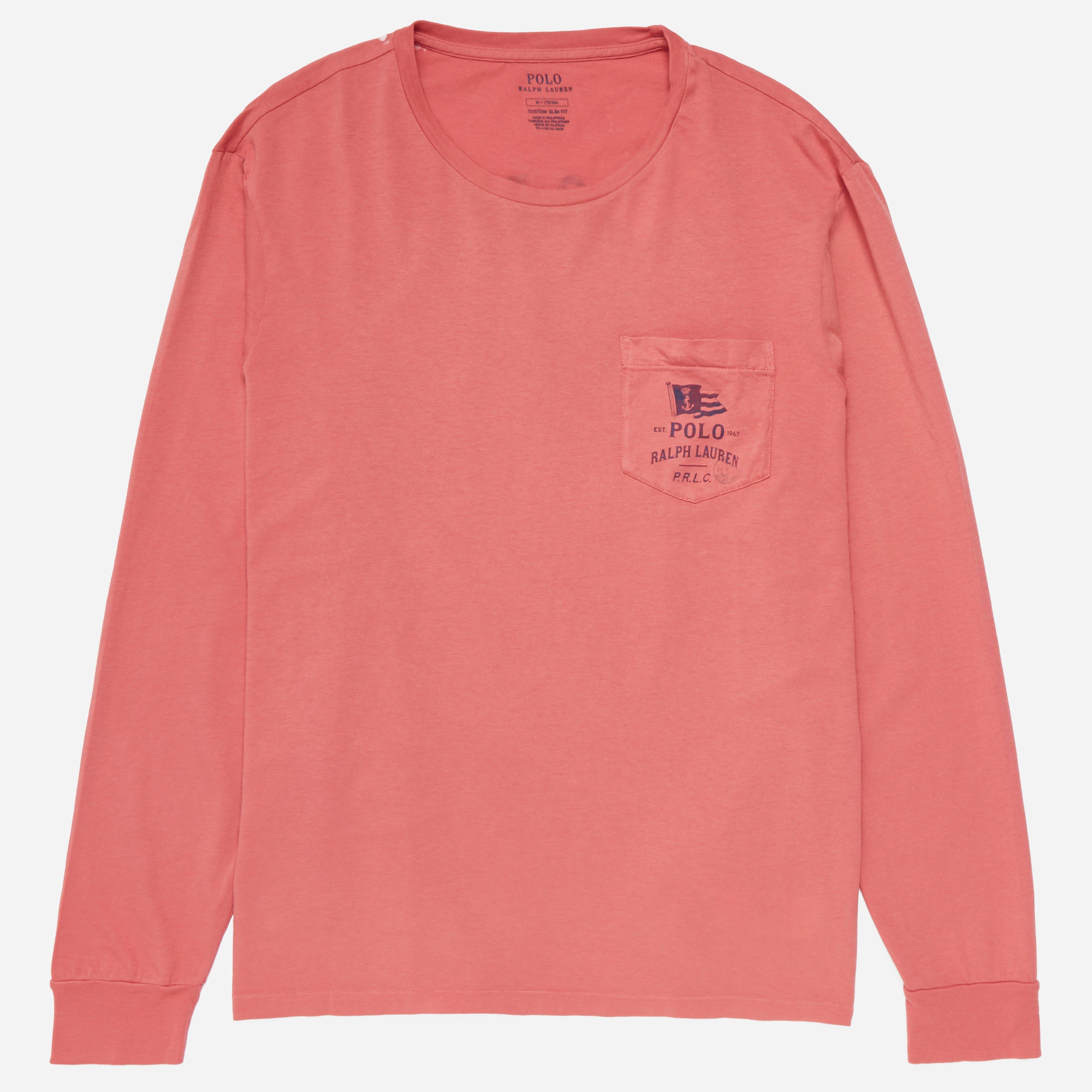 Polo Ralph Lauren Logo Pocket Long Sleeve T-shirt