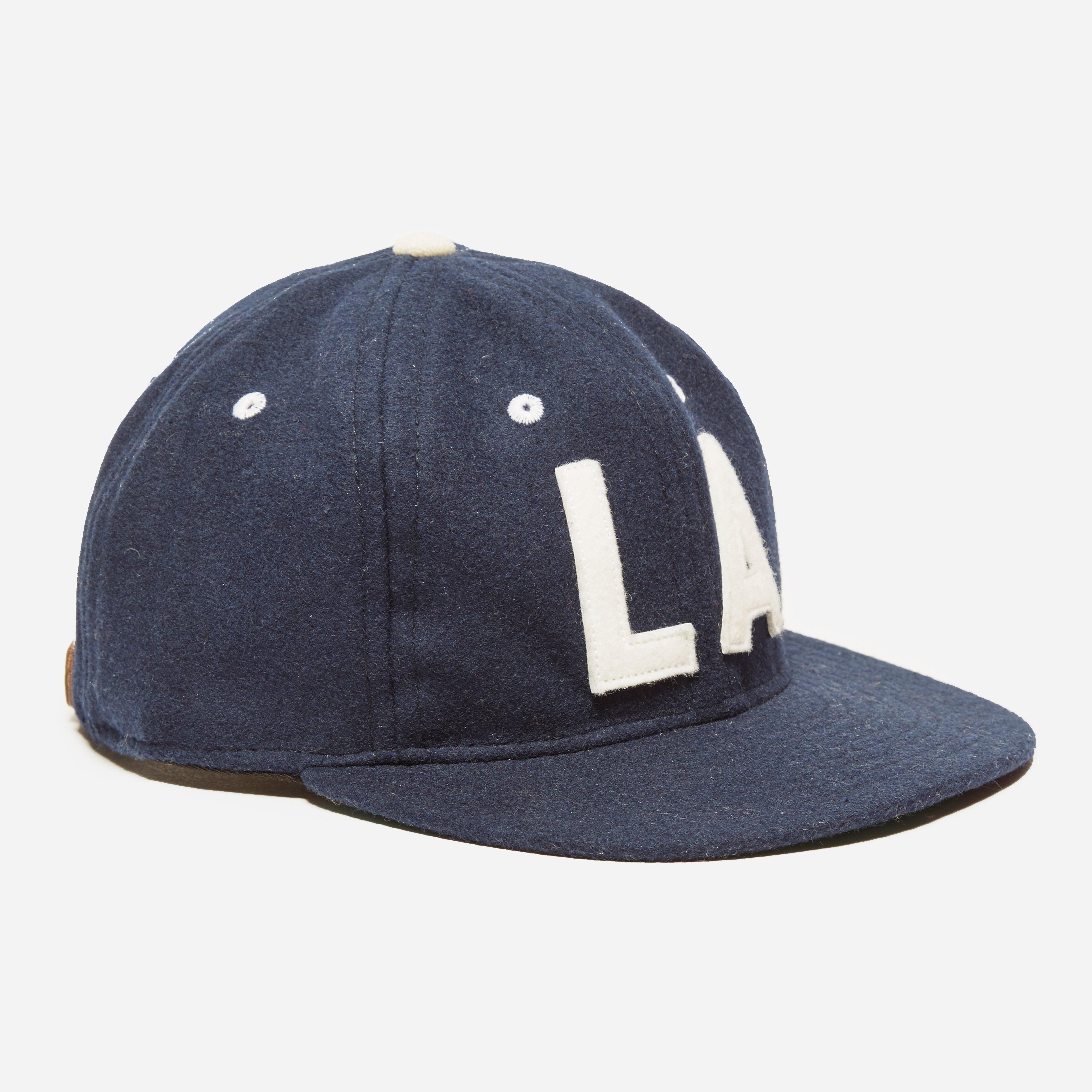 Ebbets Los Angeles Angels 1954 Cap Navy Wool