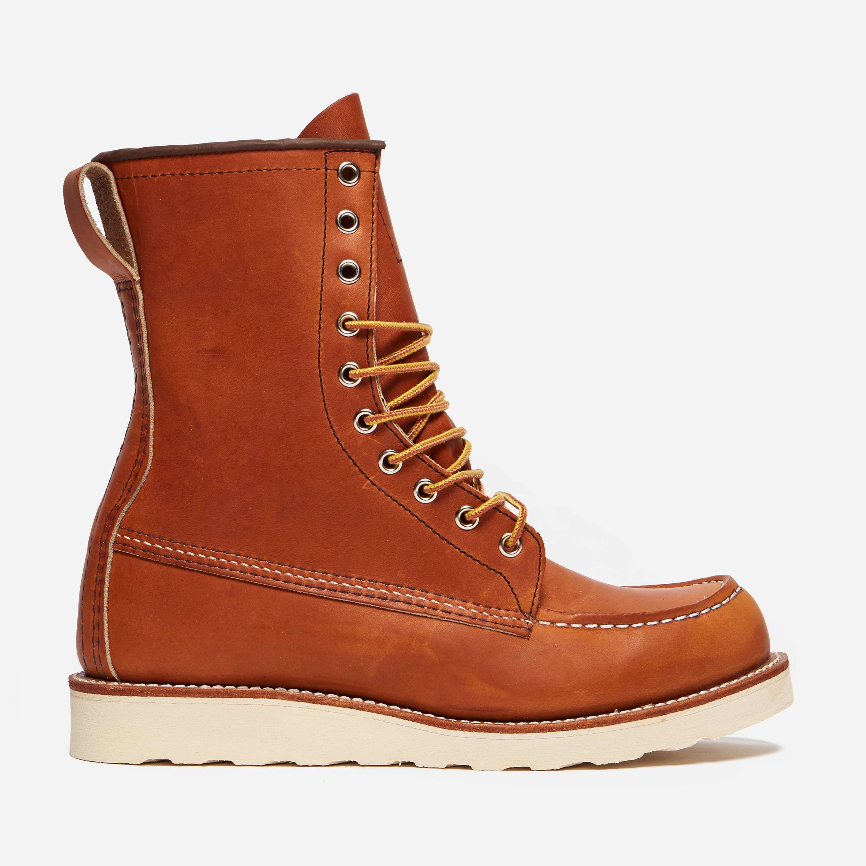 "Red Wing 00877 8"" Classic Moc Toe Boot"