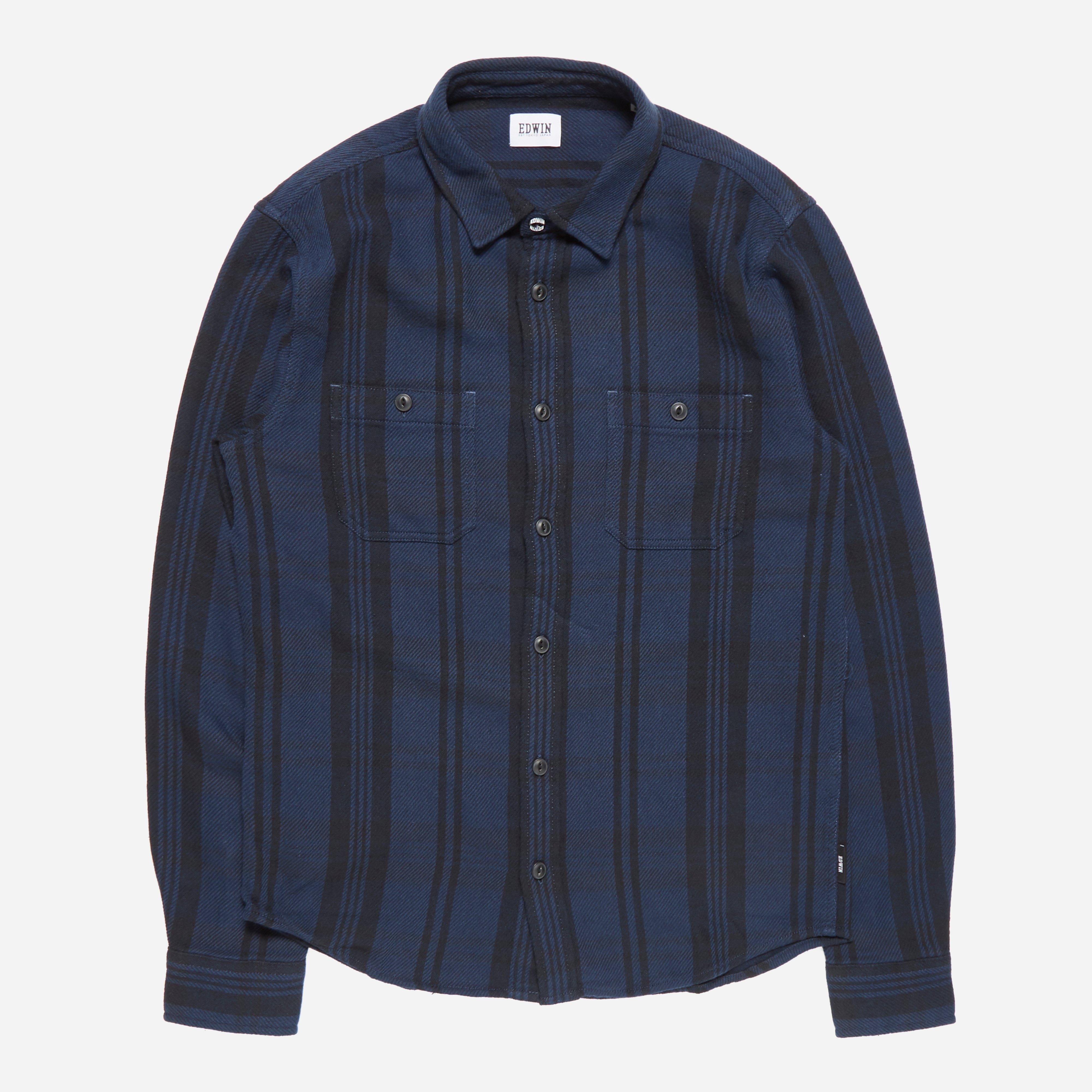 Edwin Flannel Labour Check Shirt
