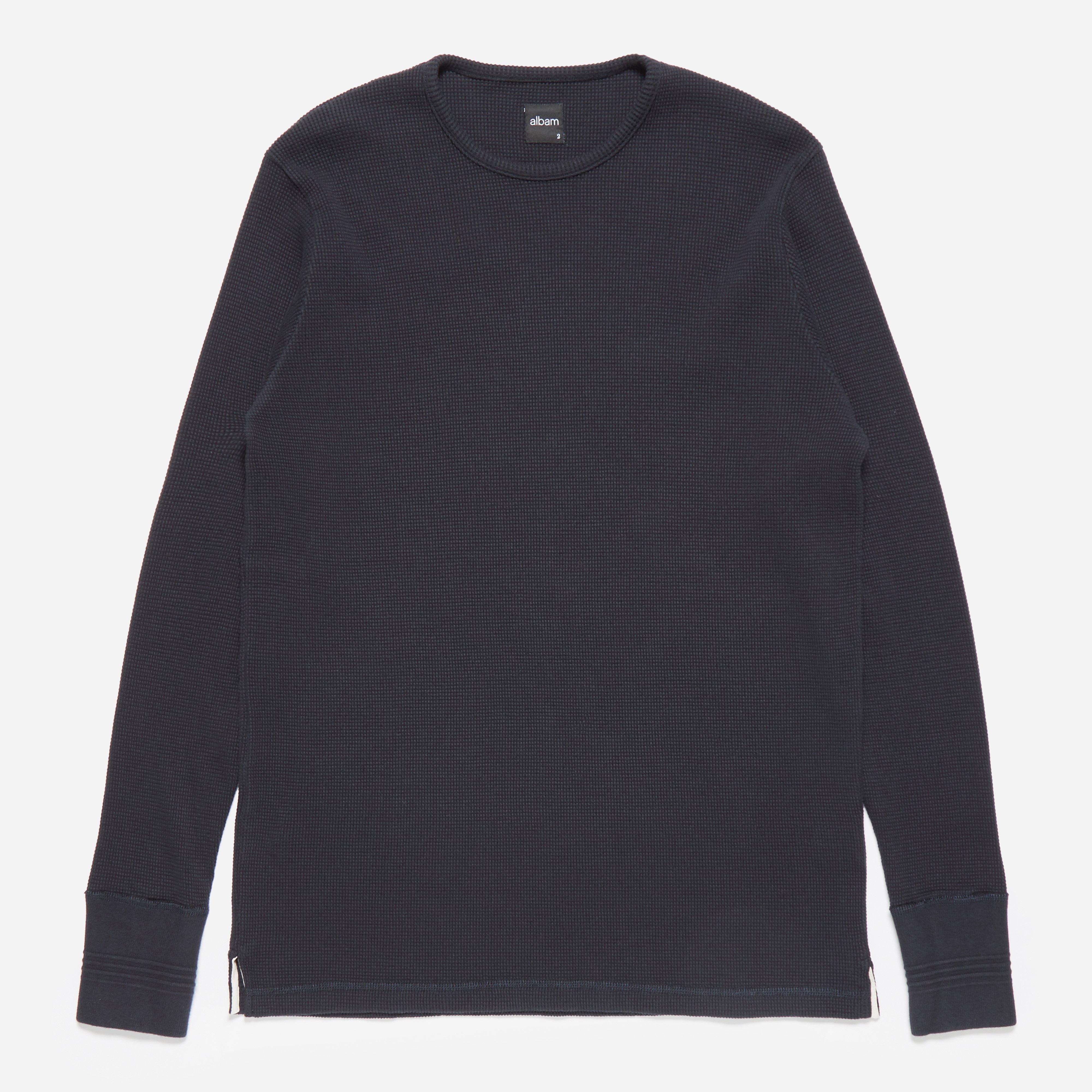 Albam Long Sleeve Waffle T-shirt