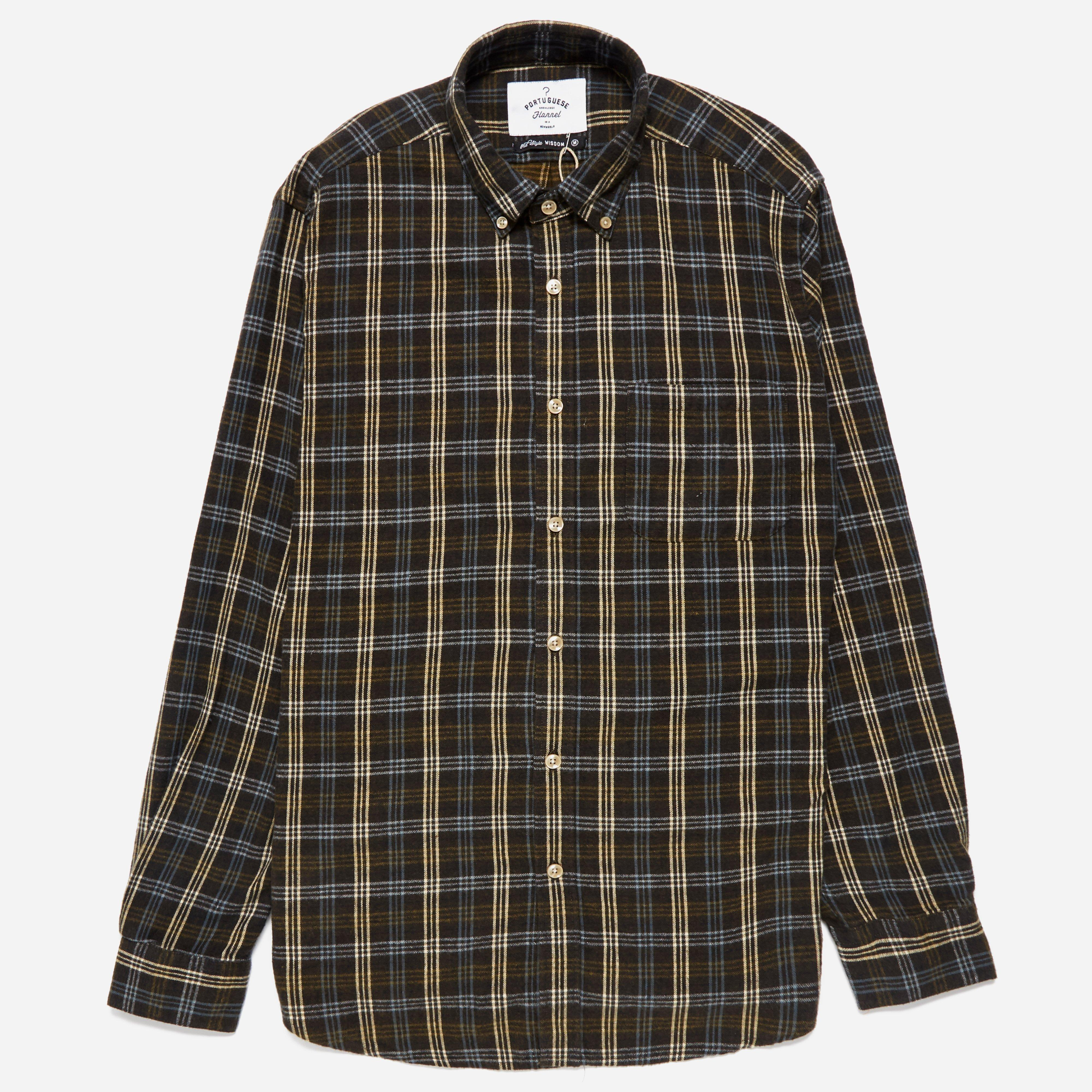 Portuguese Flannel Escudo Shirt