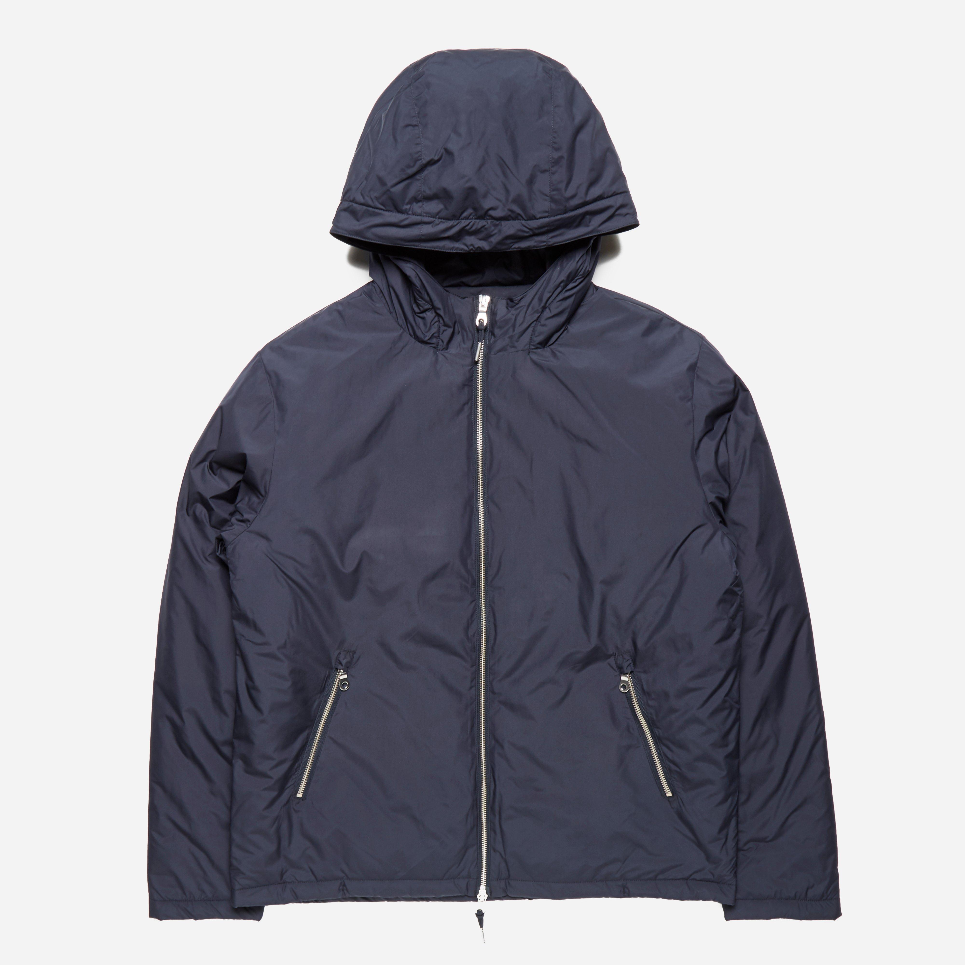 Folk Wadded Hooded Jacket