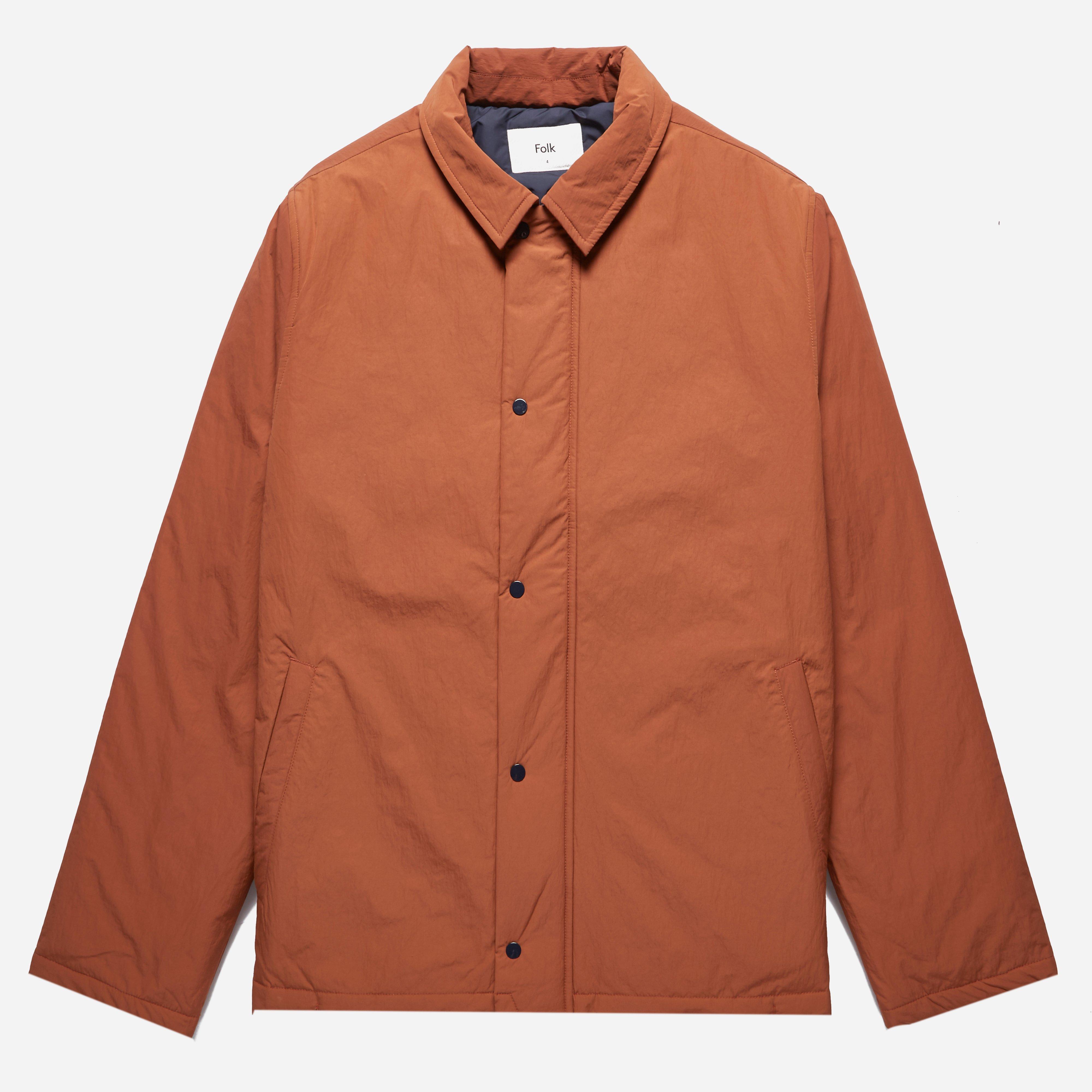 Folk Wadded Pebble Jacket