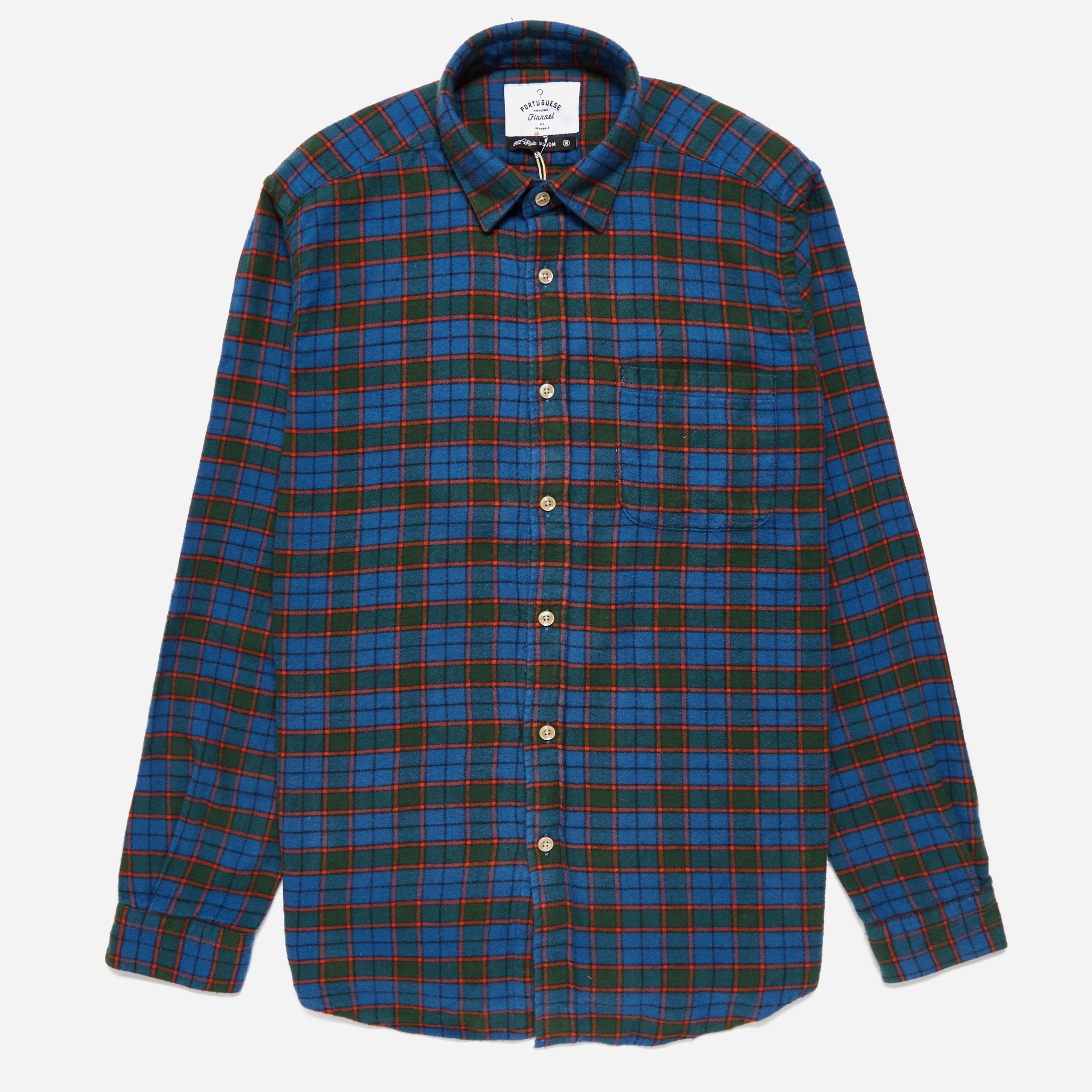 Portuguese Flannel Ledo Shirt