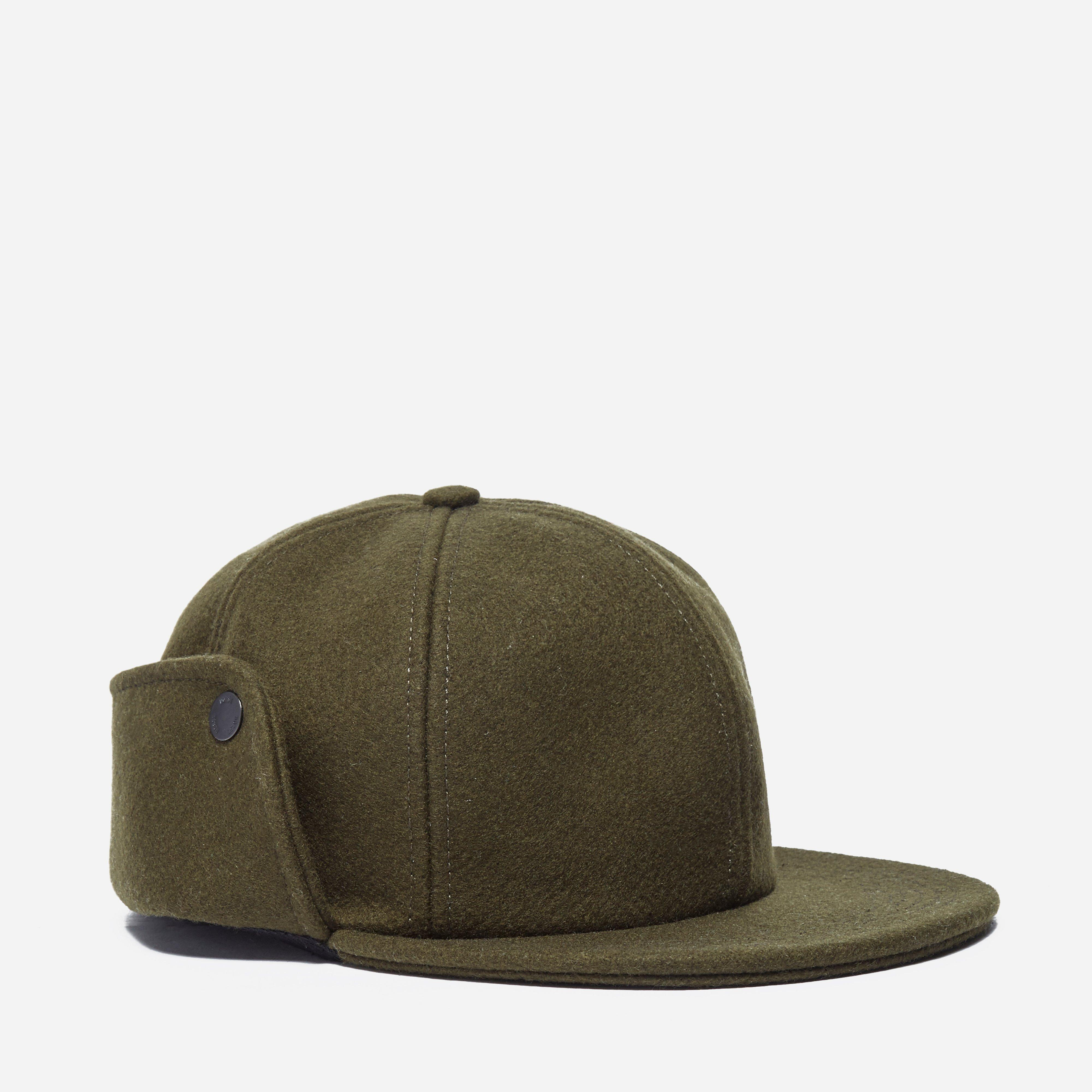 Norse Projects Melton Earflap 6 Panel