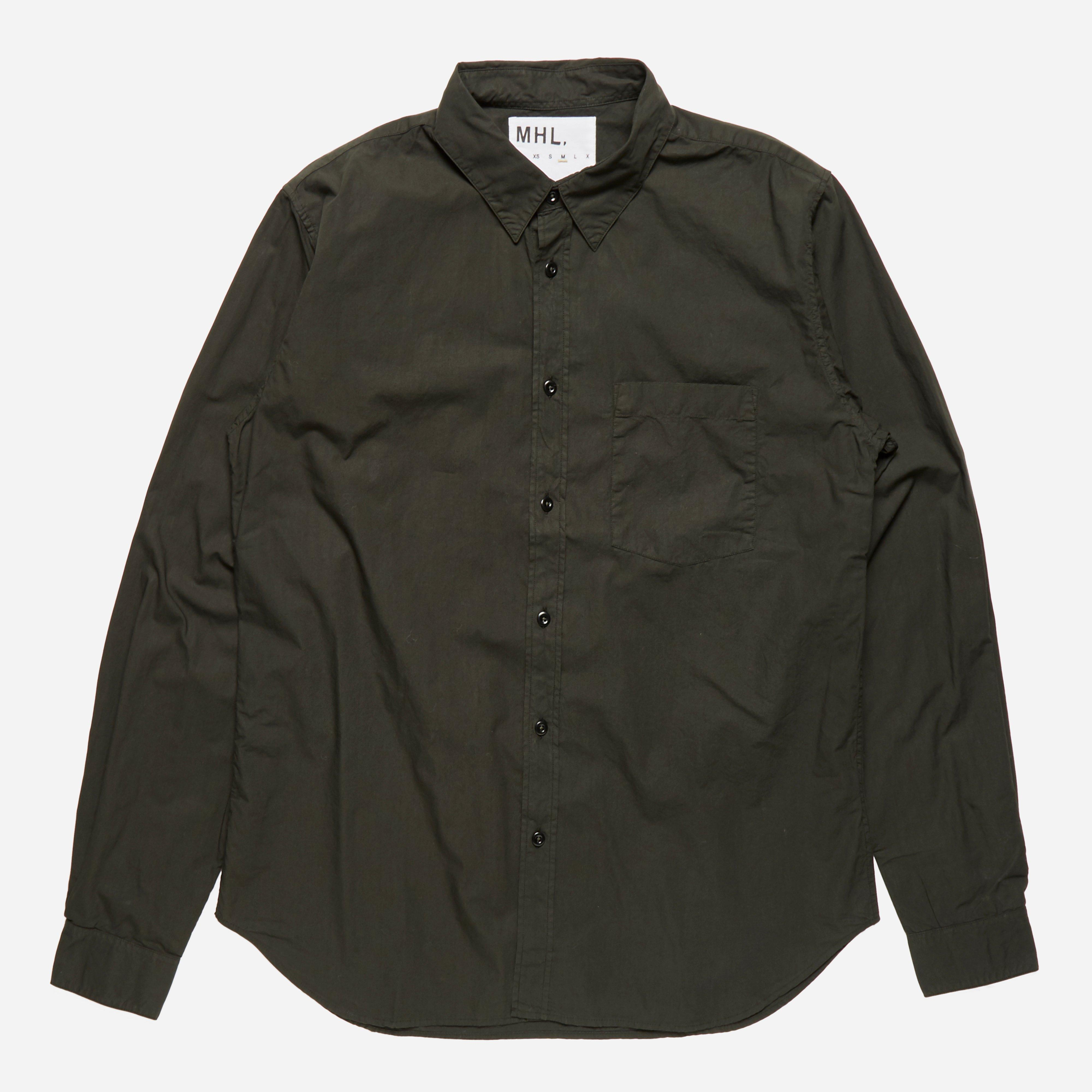 MHL Slim Work Shirt Garment Dye