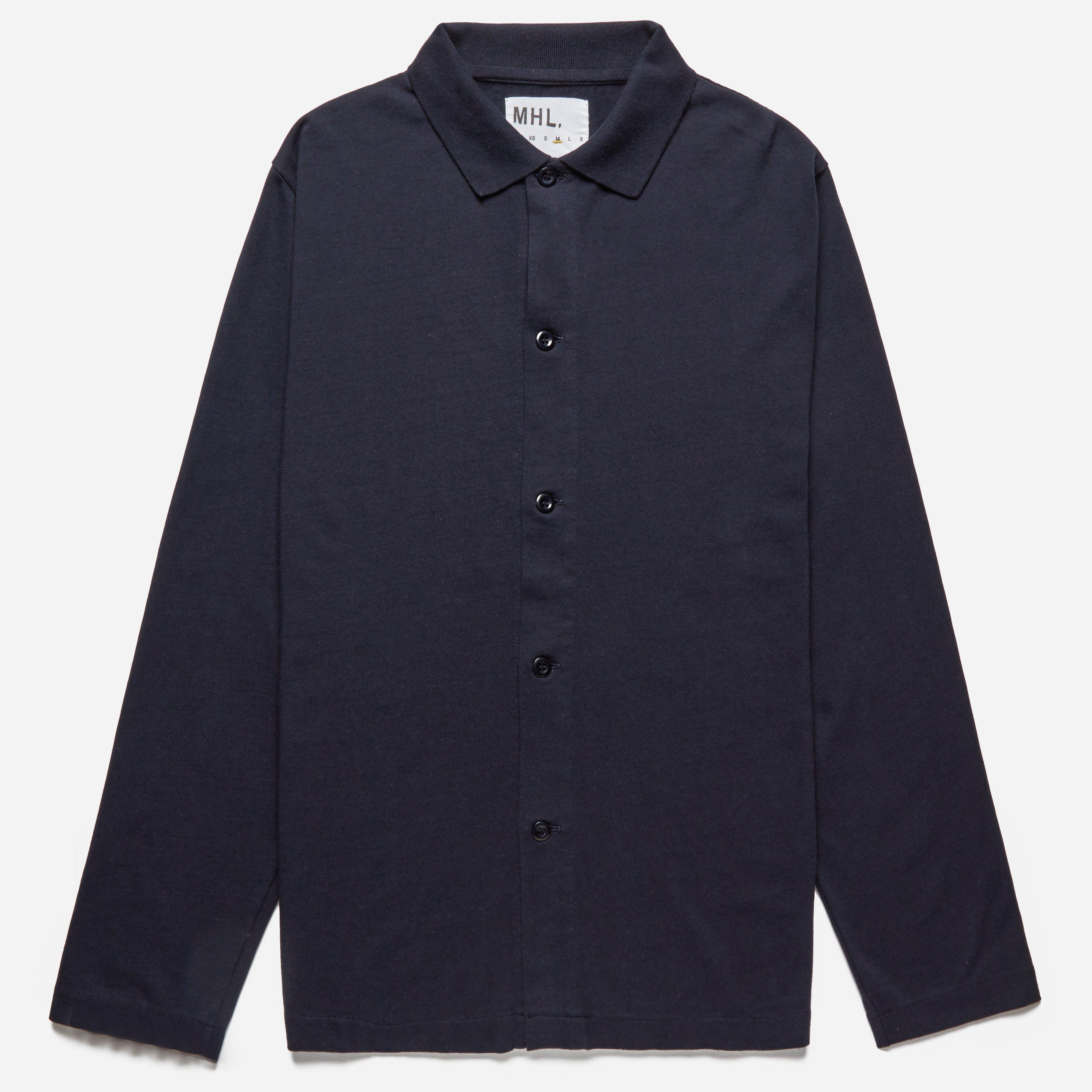 MHL L/S Jersey Polo Shirt