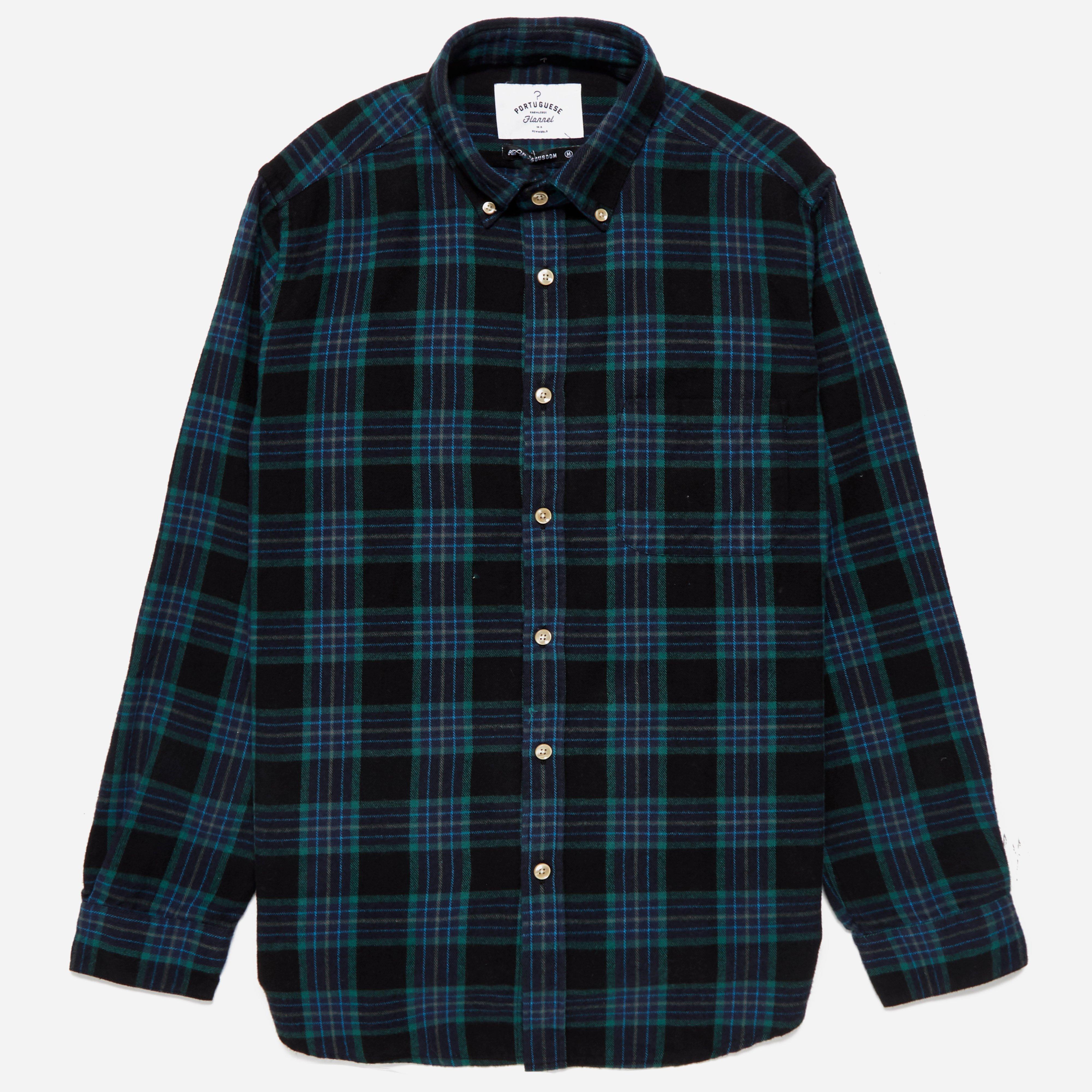 Portuguese Flannel Oliveira Shirt