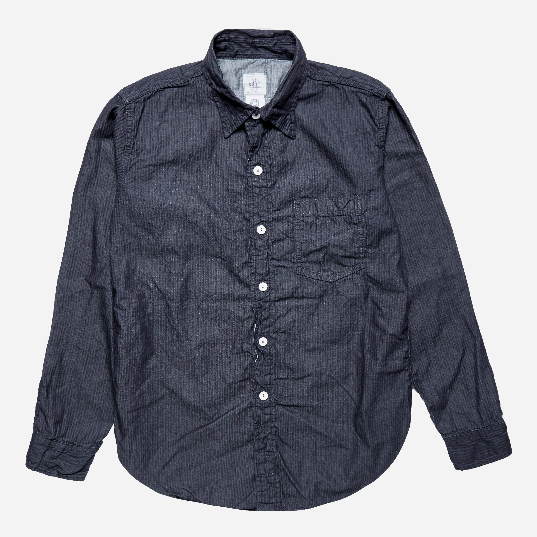 Post Overalls The Post III Thin Back Sateen Shirt