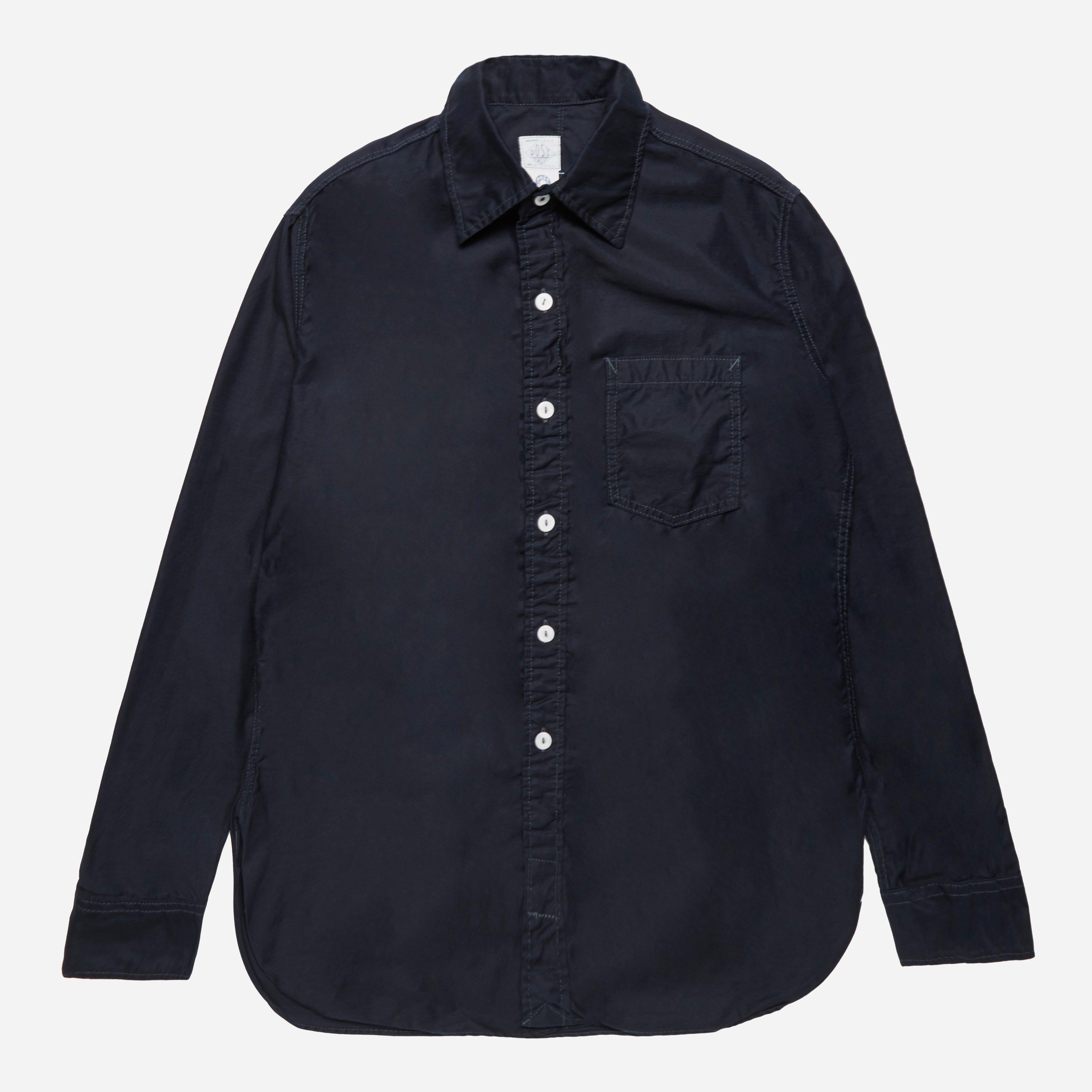 Post Overalls HBT Denim Shirt