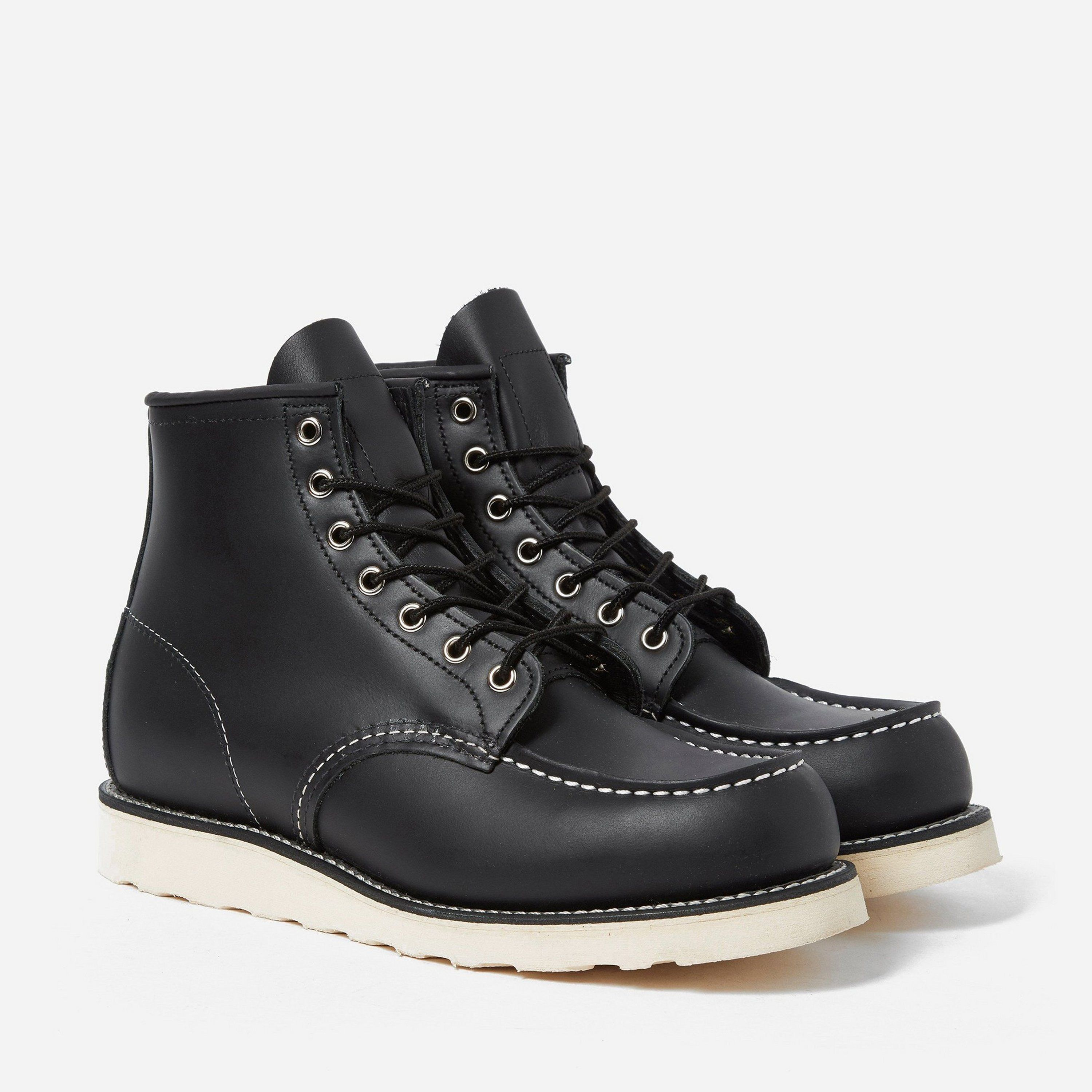 """Red Wing 08130 6"""" Moc Toe Boot"""