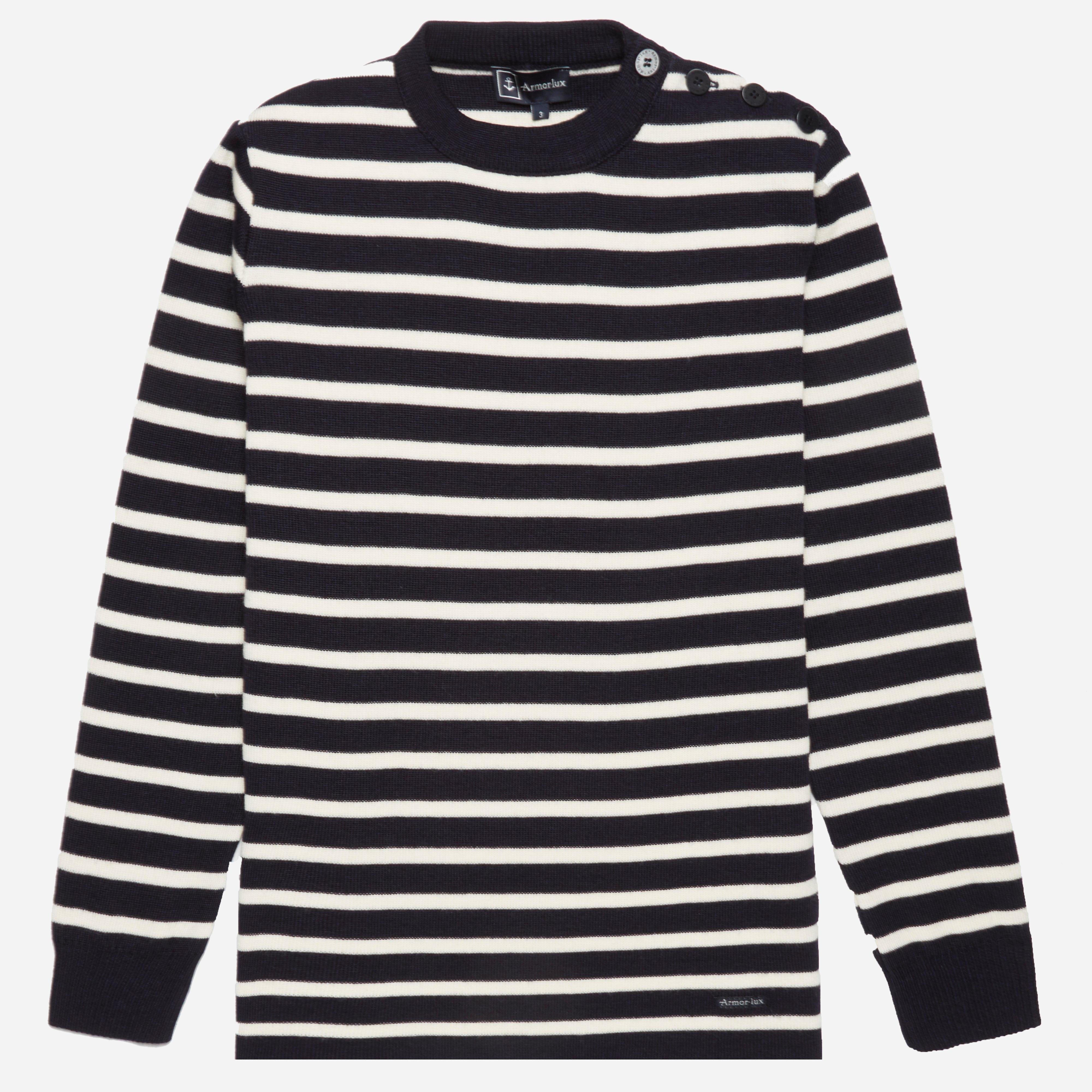 Armor Lux 02195 Fouesant Striped Crew