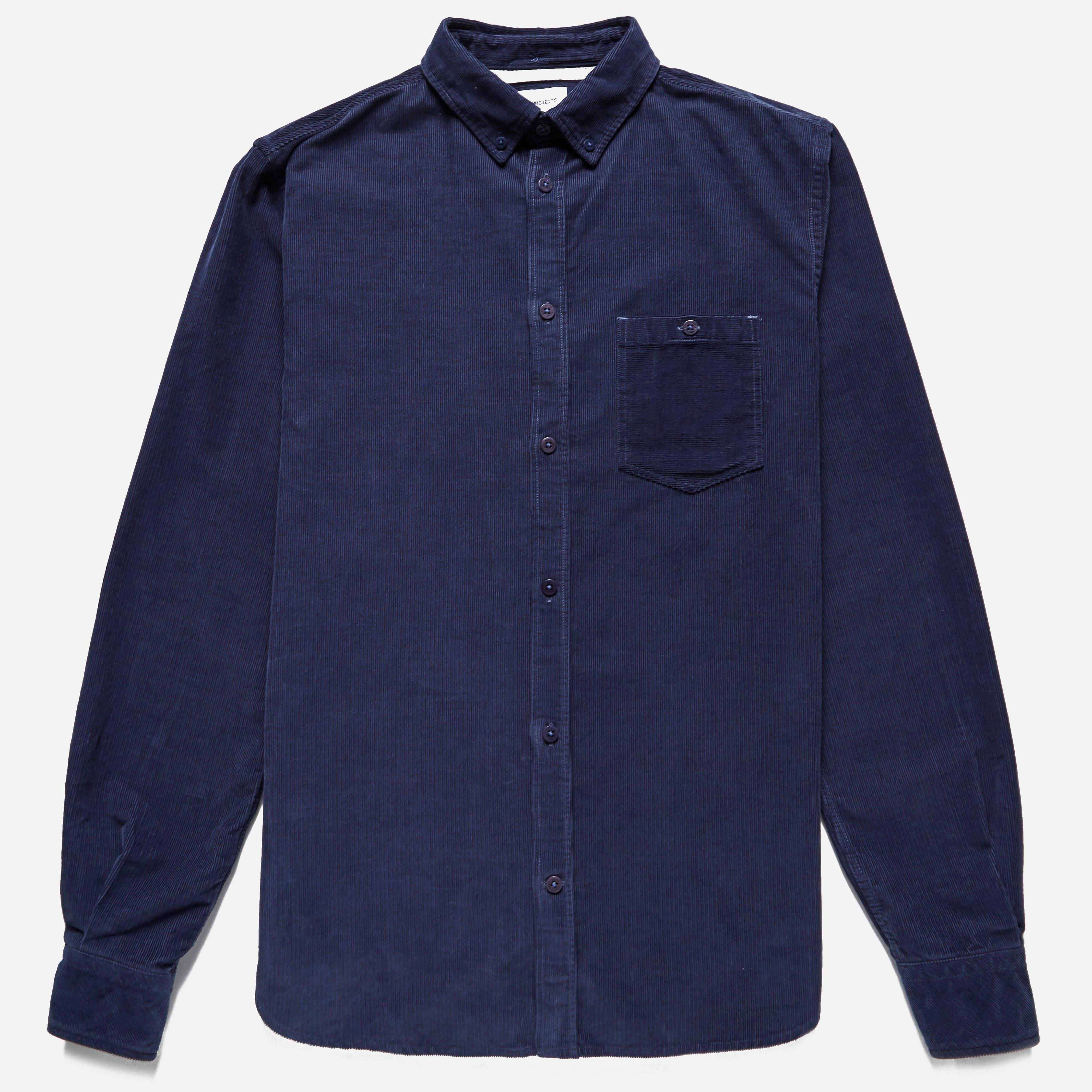 Norse Projects Anton Fine Corduroy Shirt