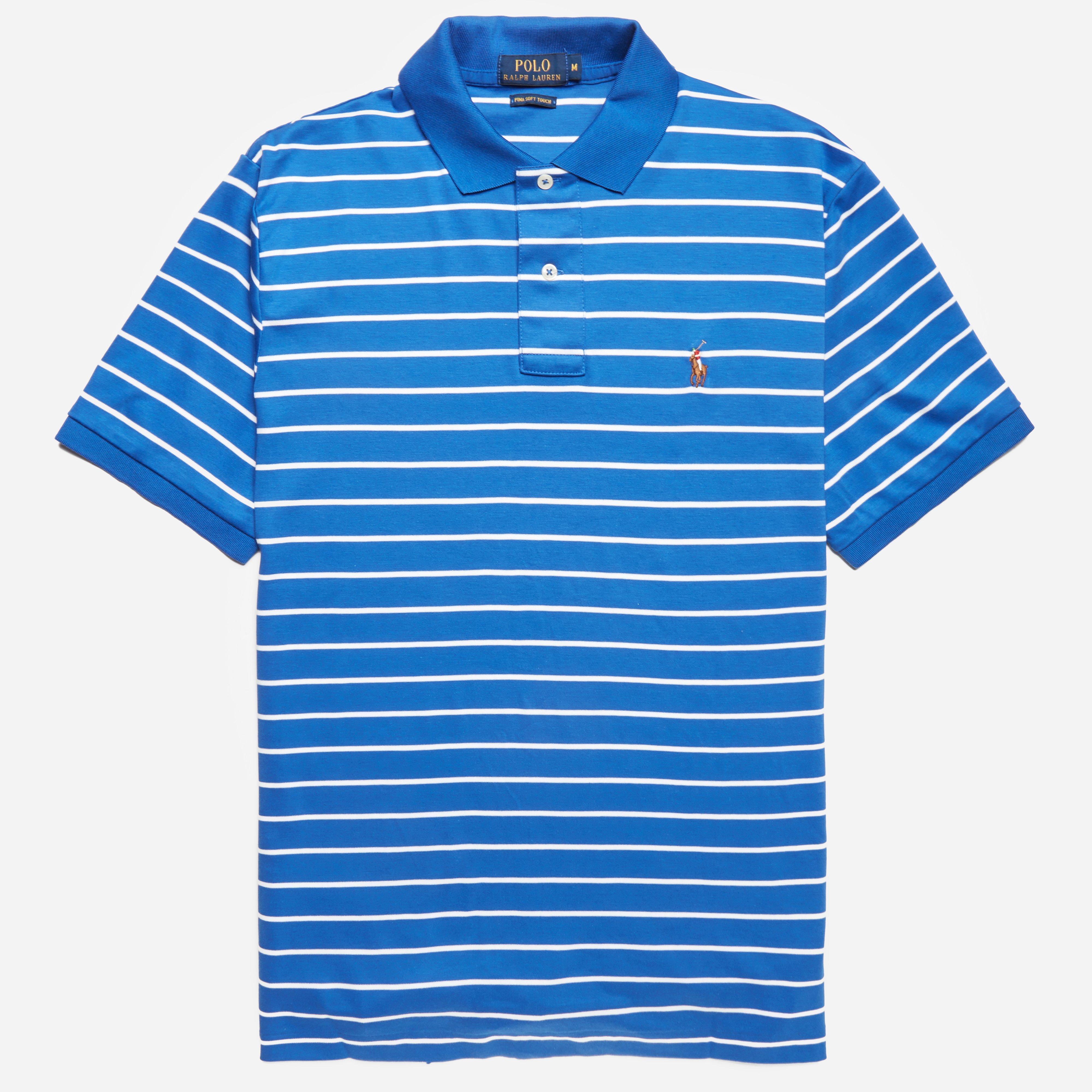 Polo Ralph Lauren Striped Pima Polo Shirt