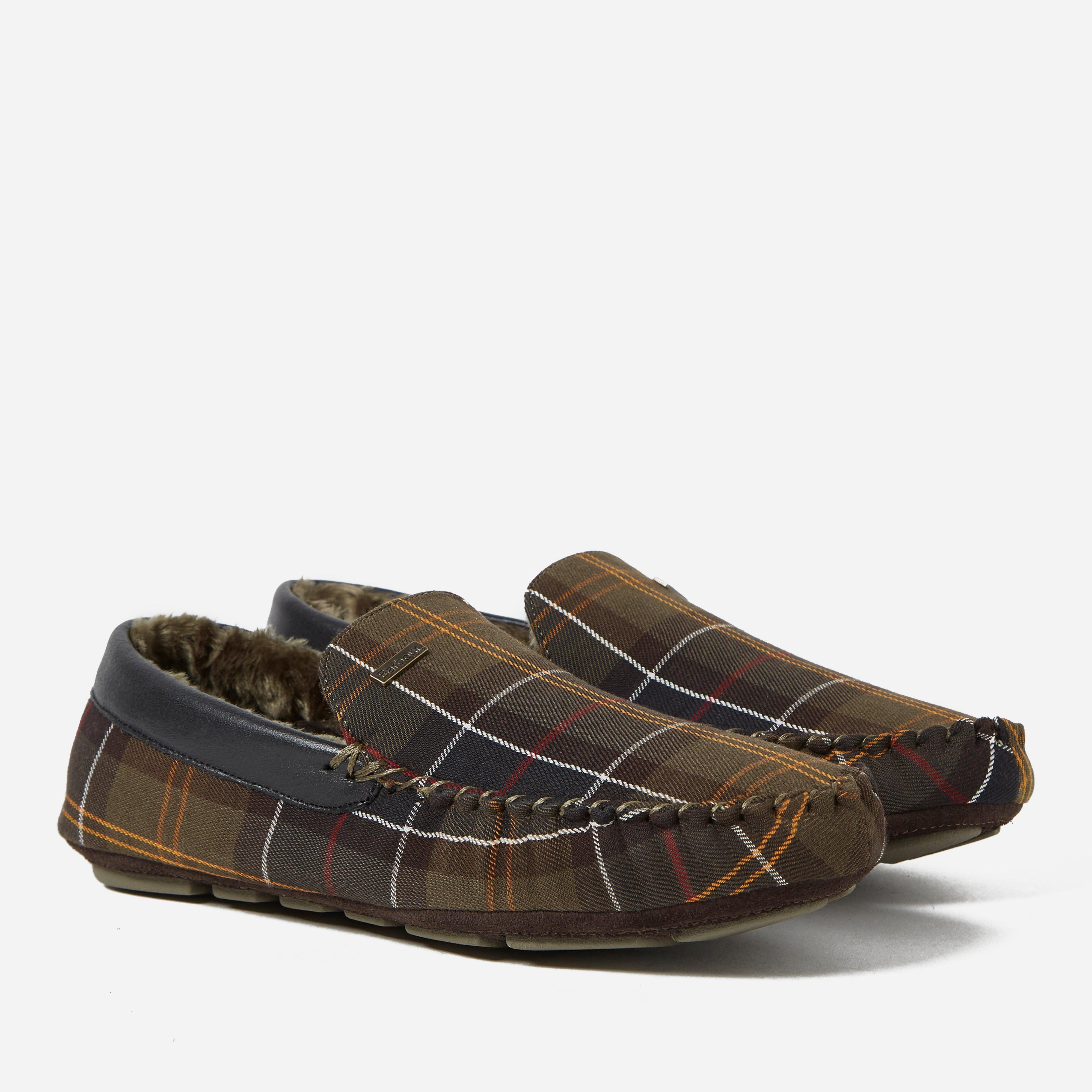 Barbour Classic Tartan Monty Slippers
