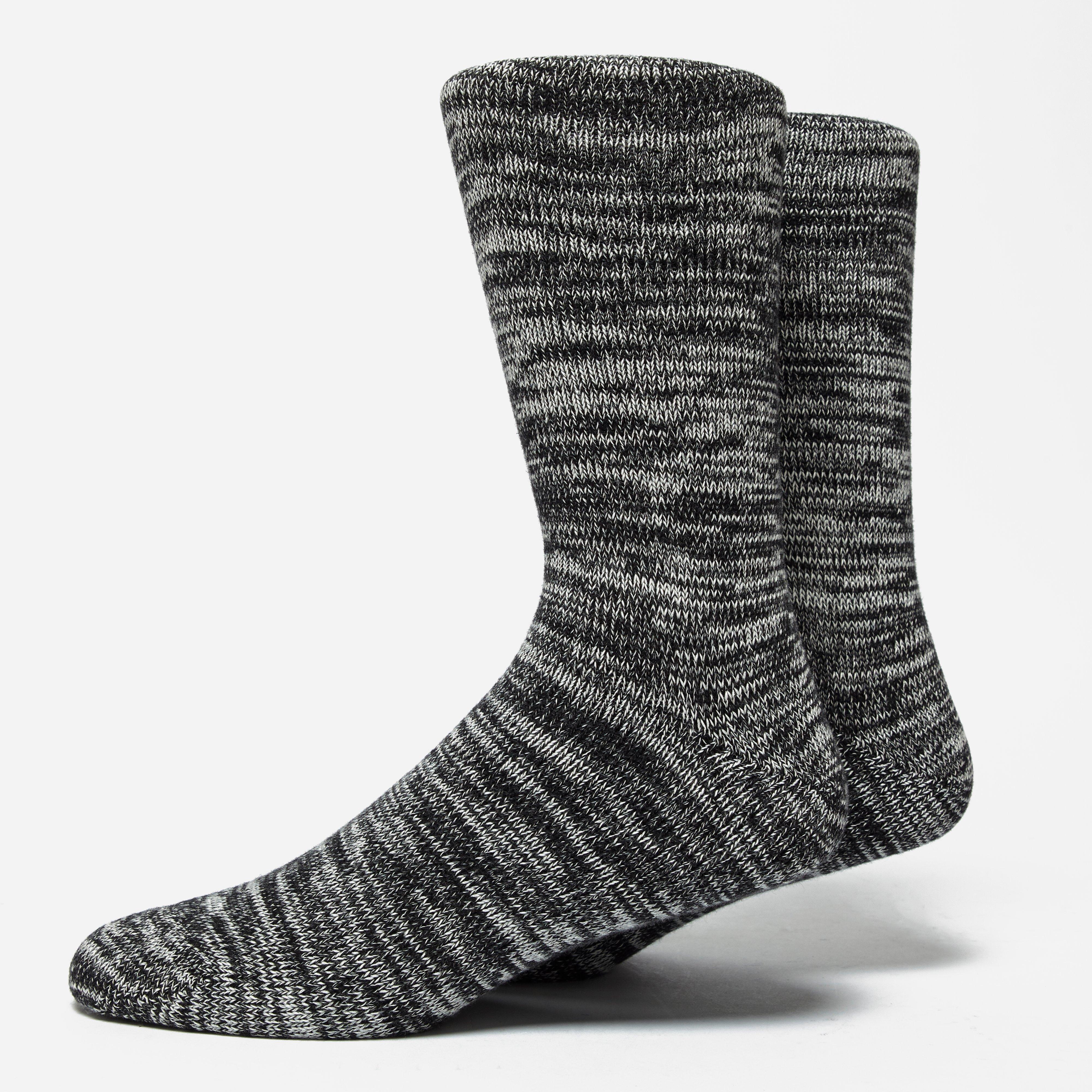 Folk Melange Socks