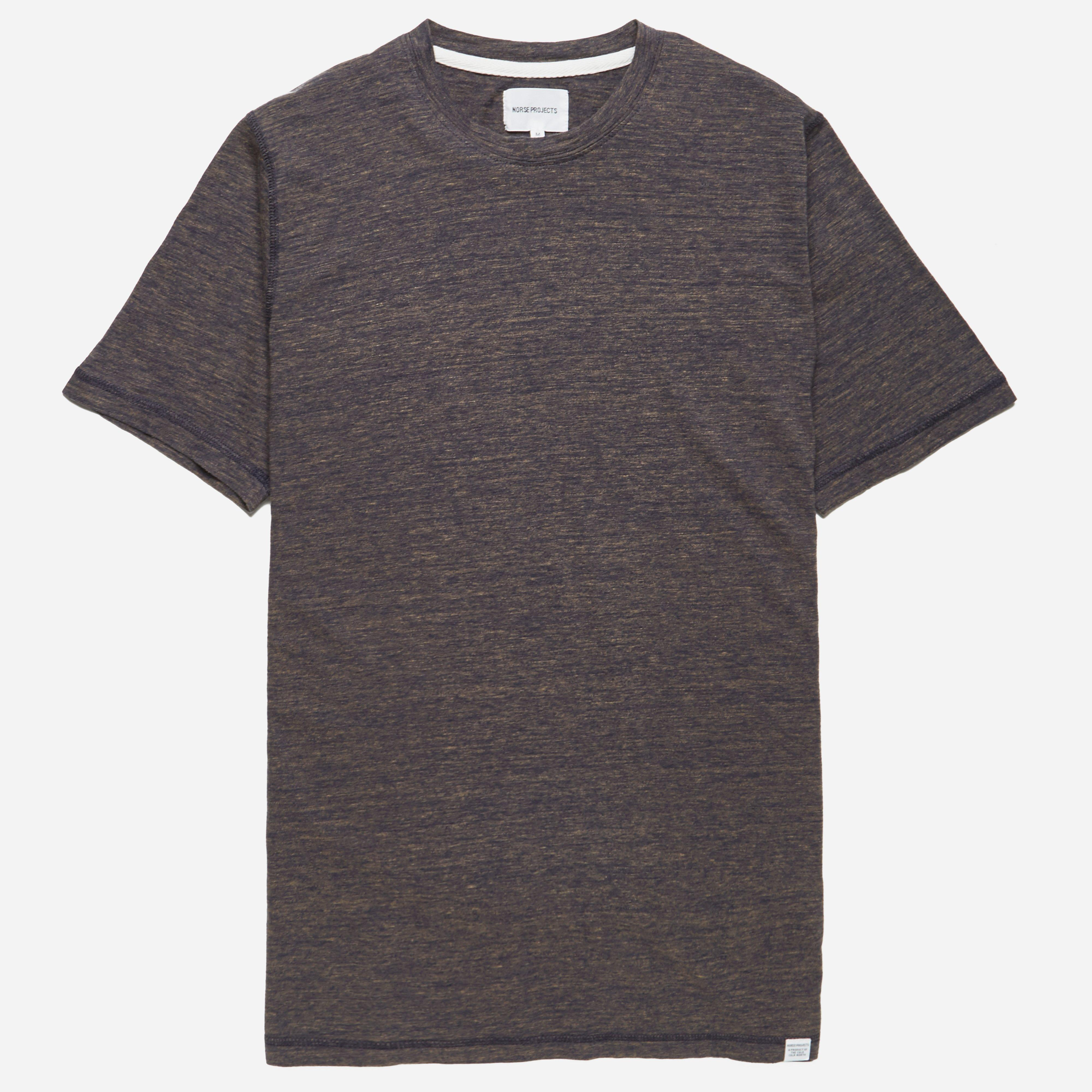 Norse Projects James Contrast Melange T-shirt