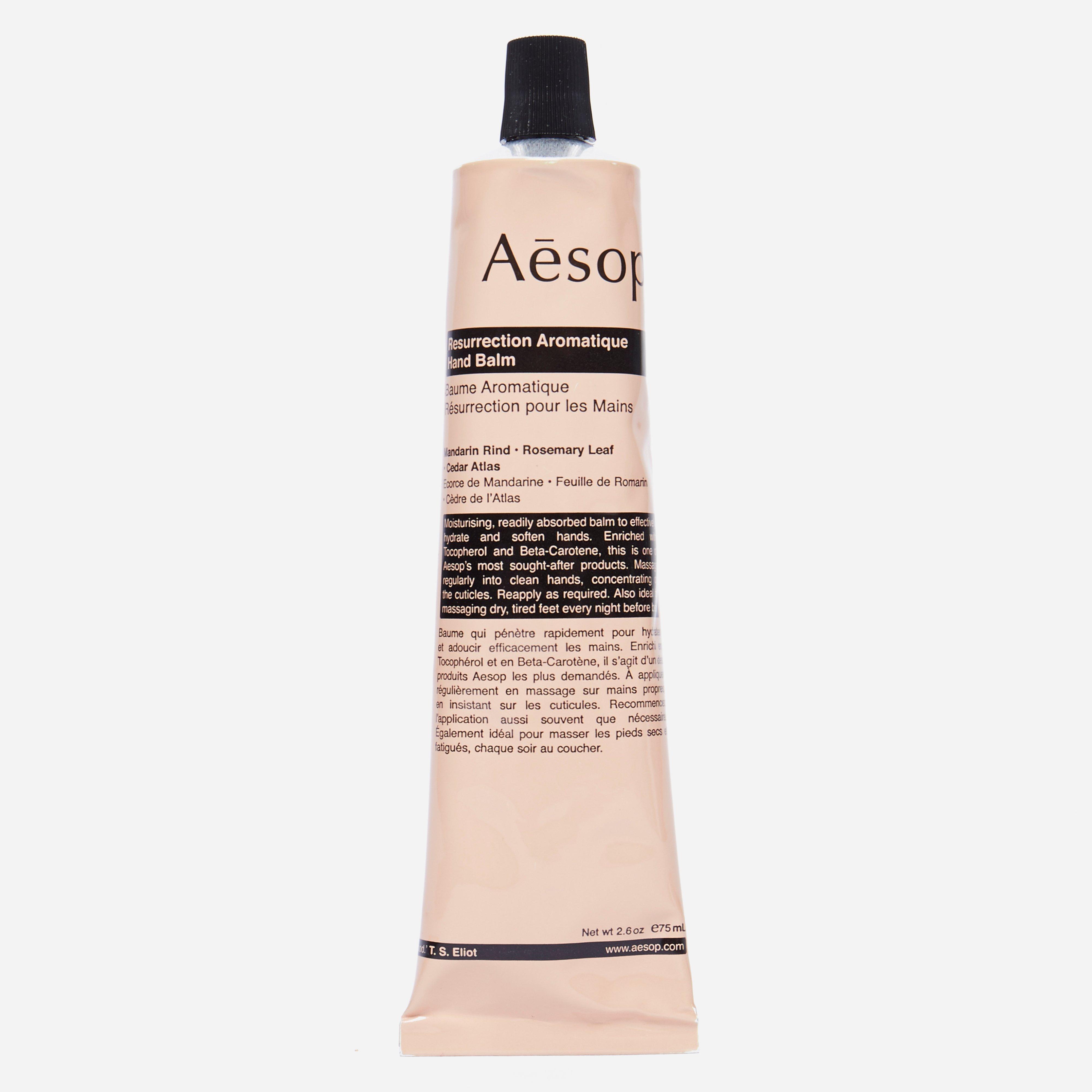 Aesop Resurrection Aromatique Hand Balm Tube