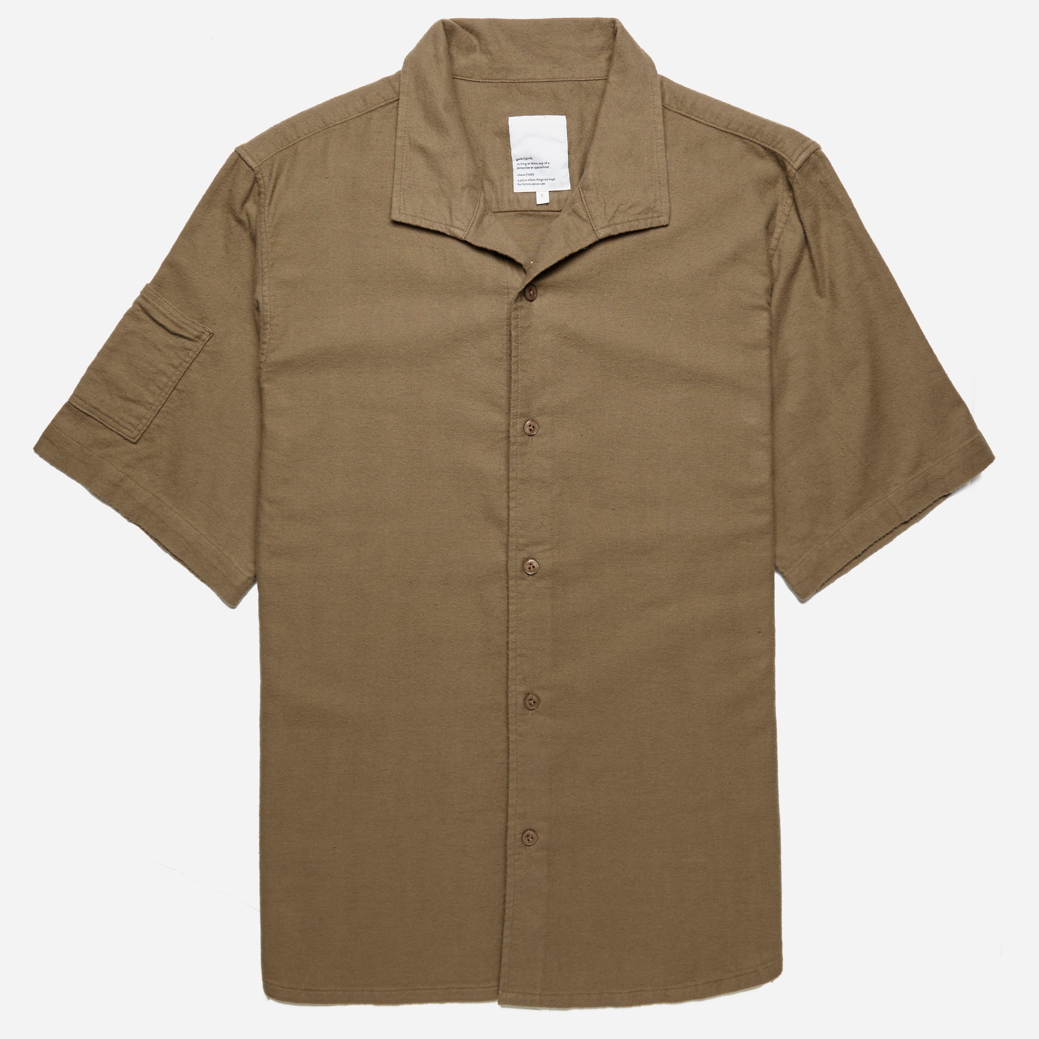 Garbstore Slacker Flannel Short Sleeve Shirt